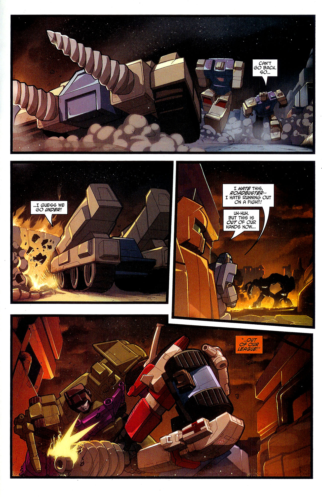 """Read online Transformers War Within: """"The Dark Ages"""" comic -  Issue #3 - 14"""