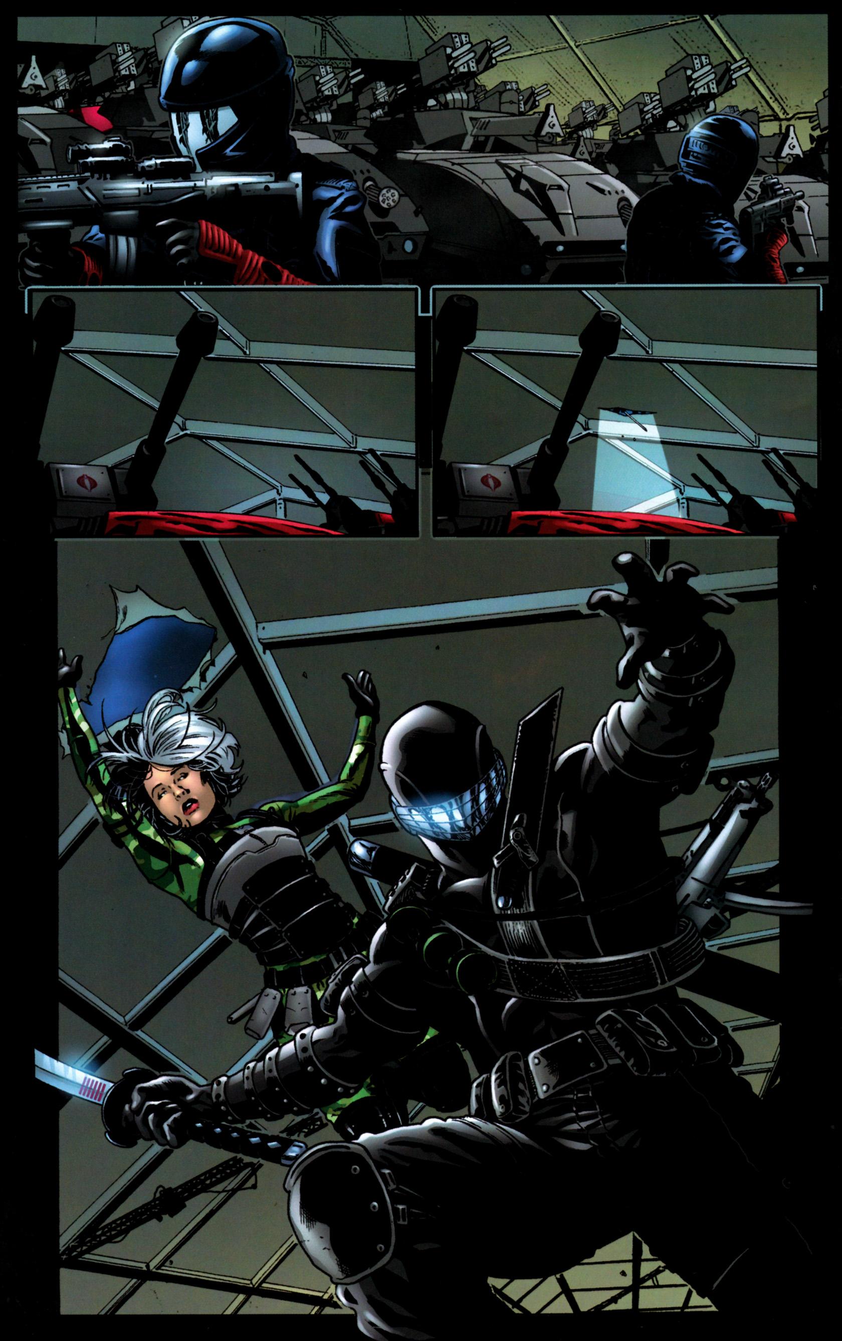 Read online G.I. Joe: Snake Eyes comic -  Issue #9 - 19