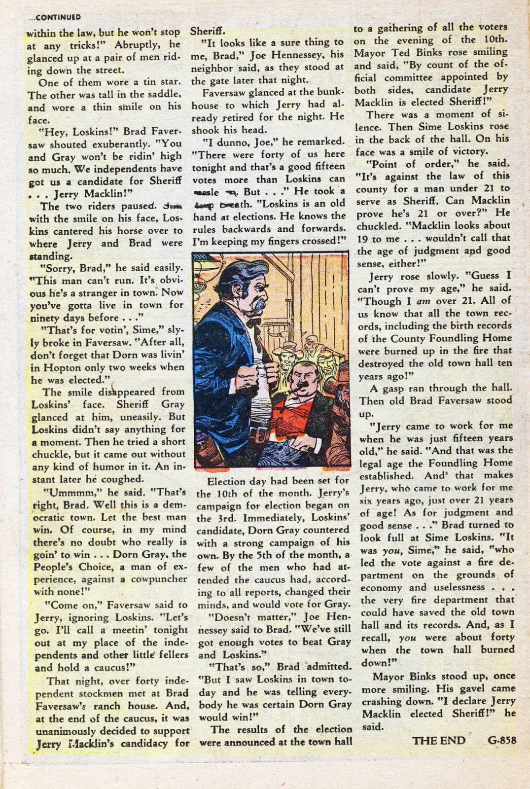 Gunsmoke Western issue 38 - Page 27