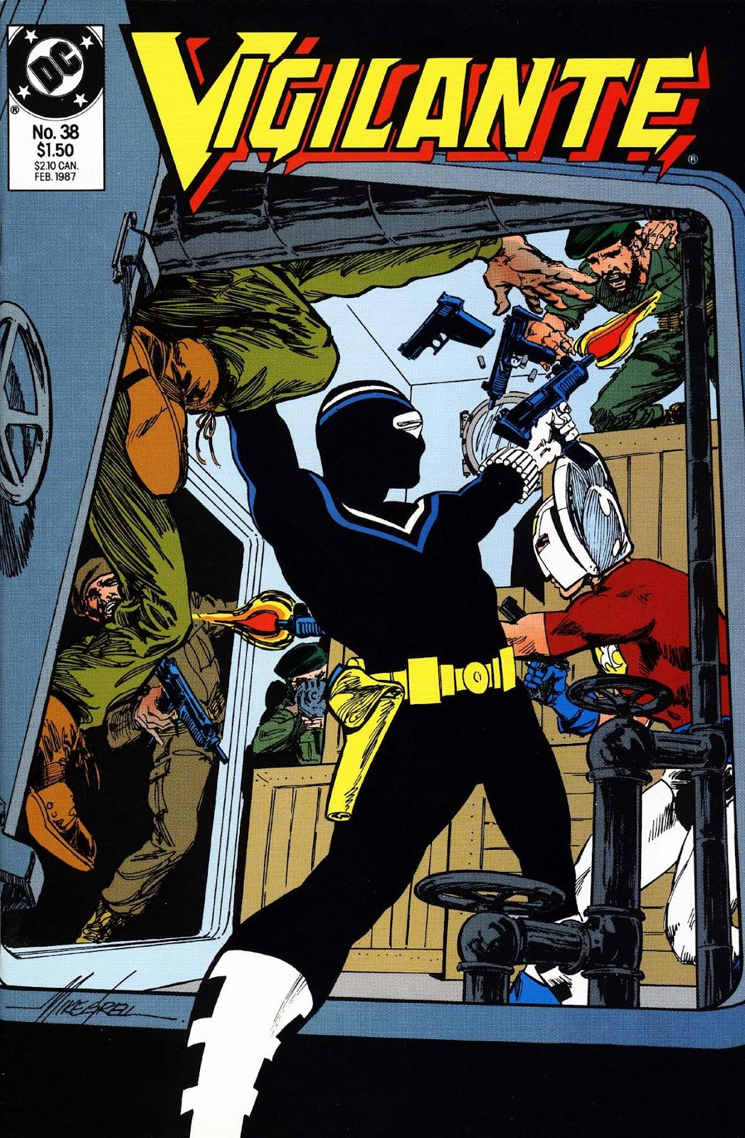 Vigilante (1983) issue 38 - Page 1