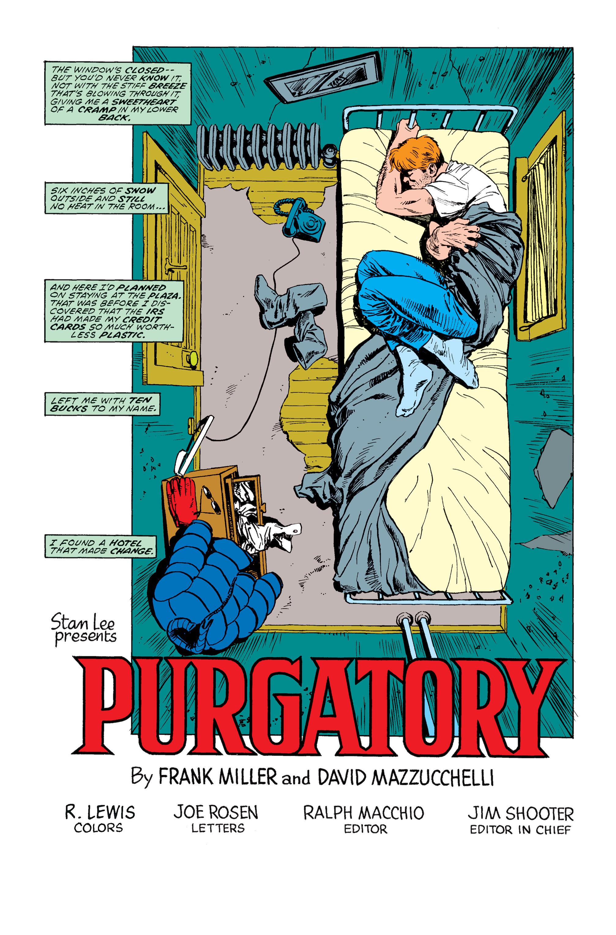 Read online Daredevil: Born Again comic -  Issue # Full - 55