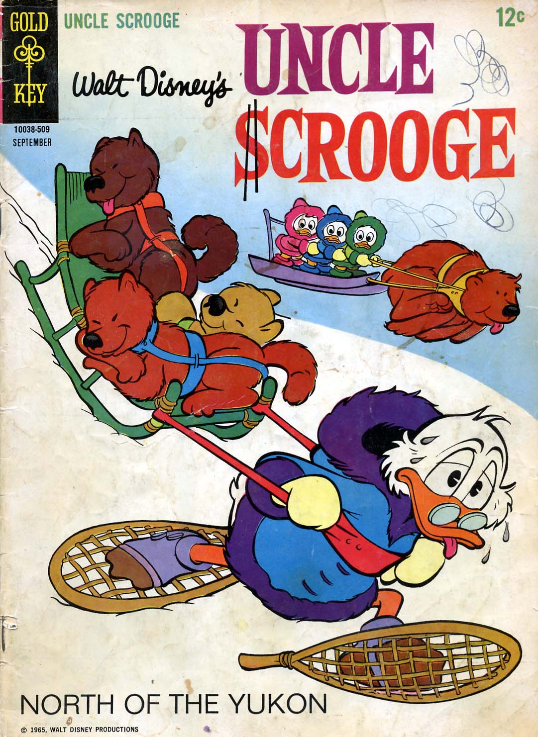 Read online Uncle Scrooge (1953) comic -  Issue #59 - 1
