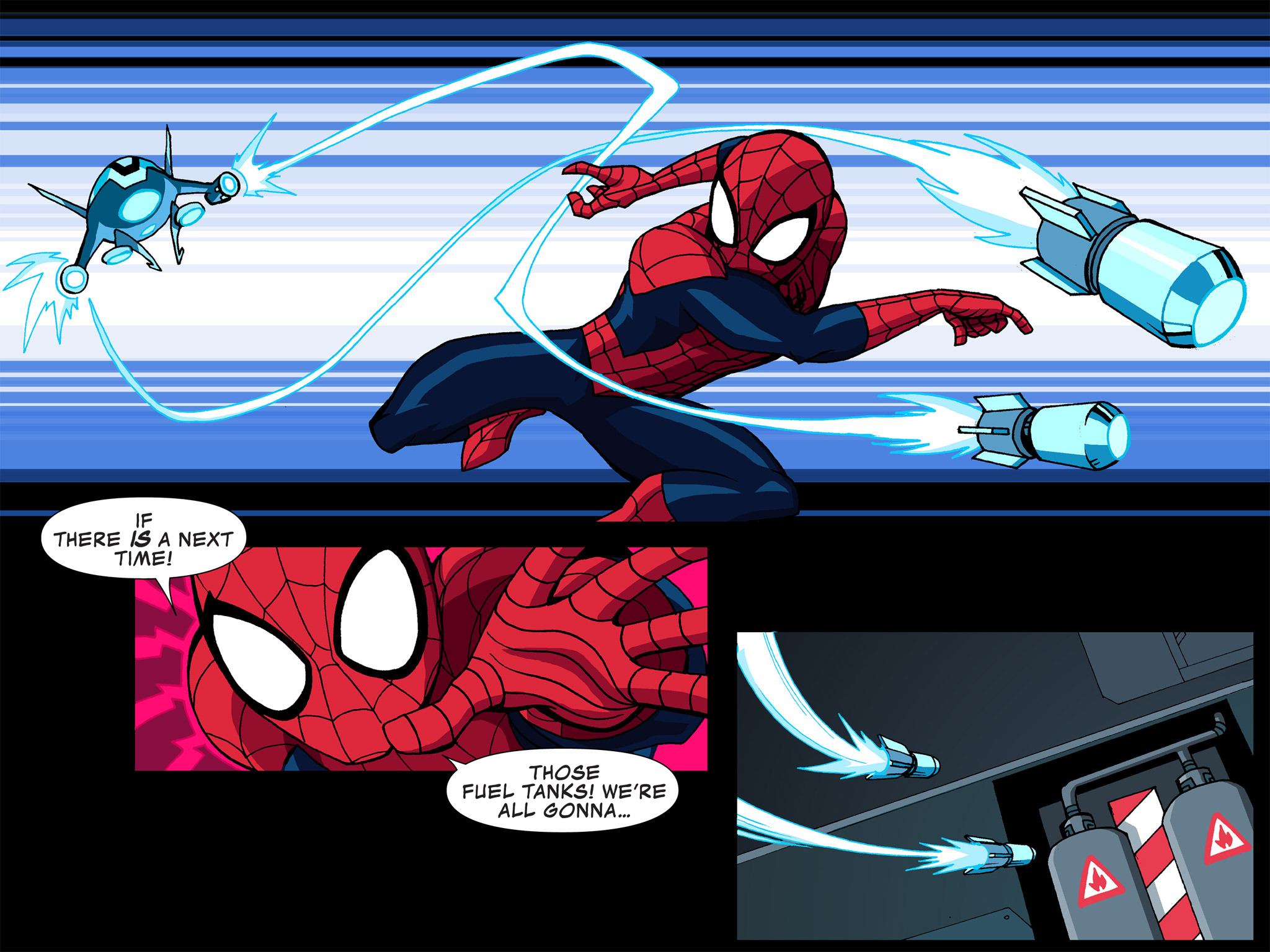 Read online Ultimate Spider-Man (Infinite Comics) (2015) comic -  Issue #4 - 44