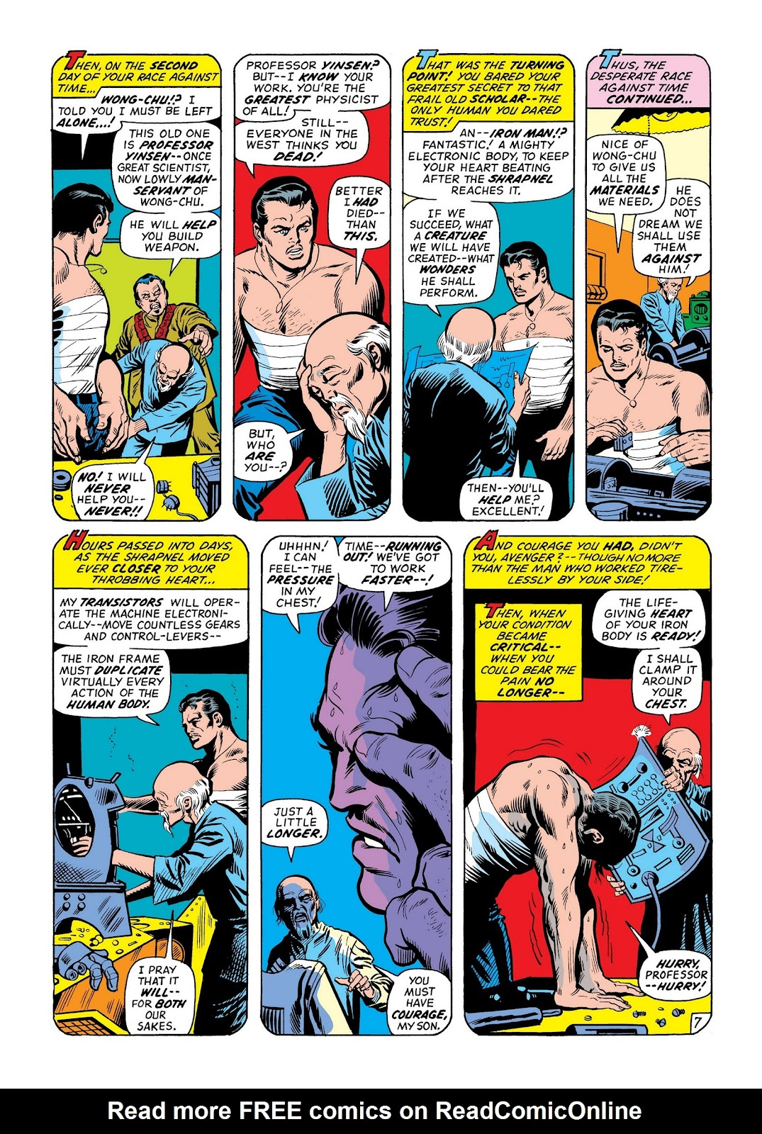Read online Marvel Masterworks: The Invincible Iron Man comic -  Issue # TPB 8 (Part 2) - 73