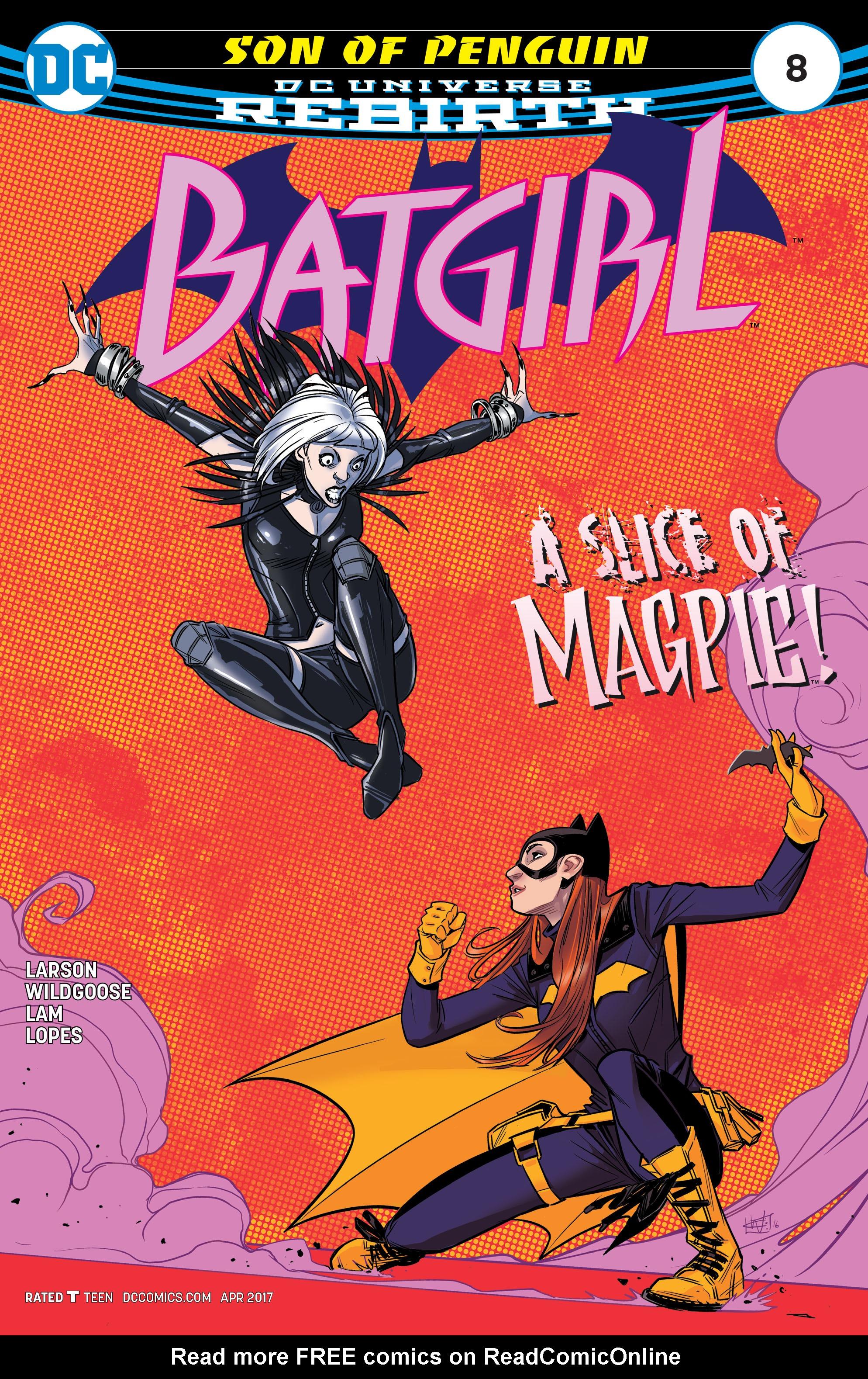 Batgirl (2016) 8 Page 1