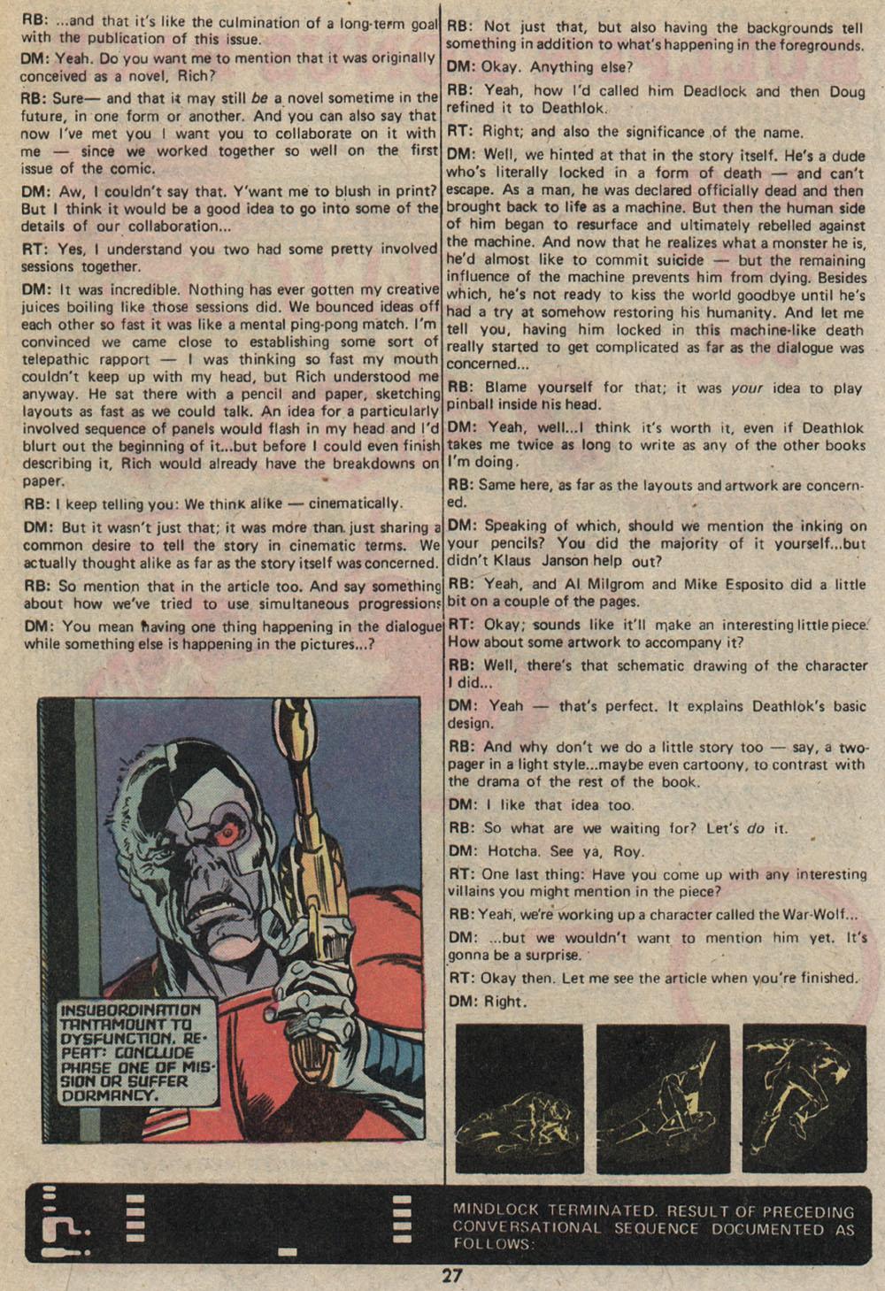 Read online Astonishing Tales (1970) comic -  Issue #25 - 19