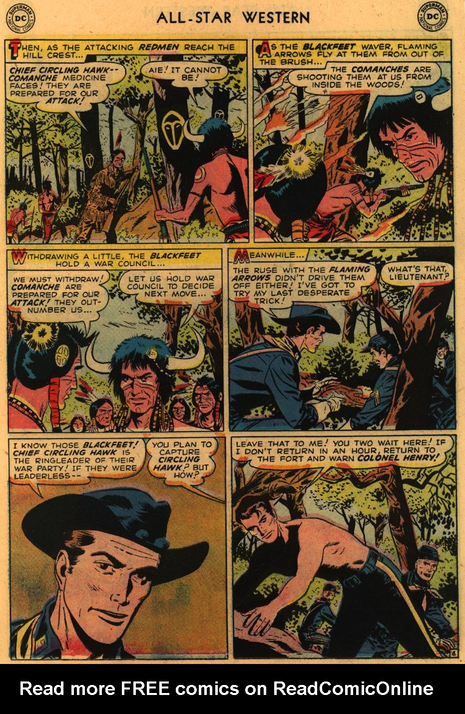 Read online All-Star Western (1951) comic -  Issue #98 - 24