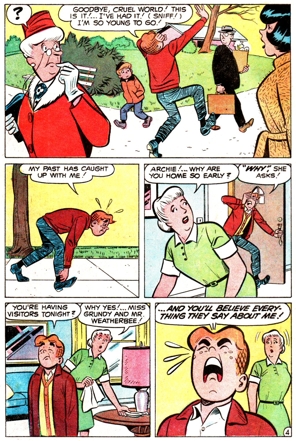 Read online Archie (1960) comic -  Issue #192 - 6