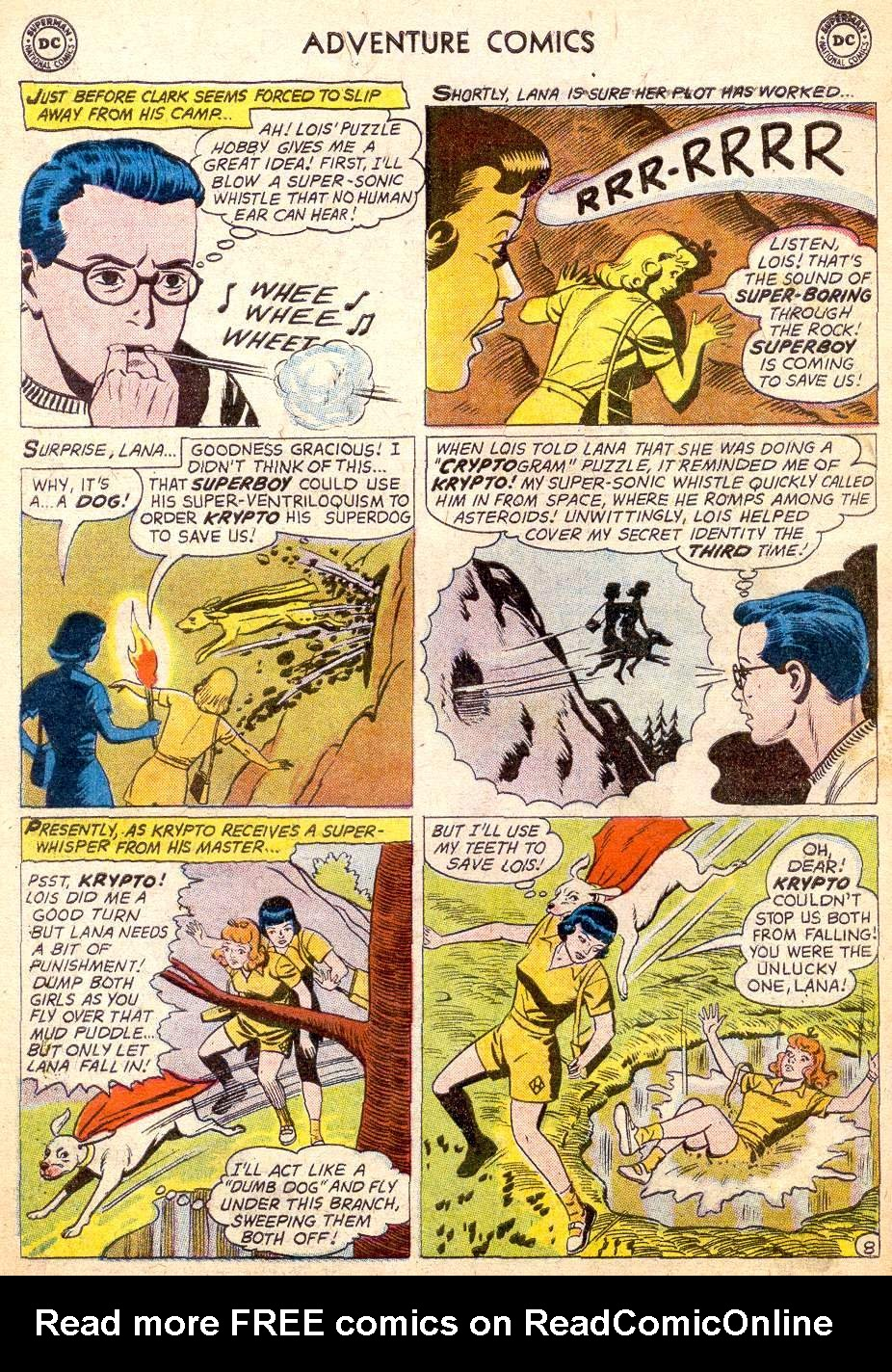 Read online Adventure Comics (1938) comic -  Issue #261 - 10