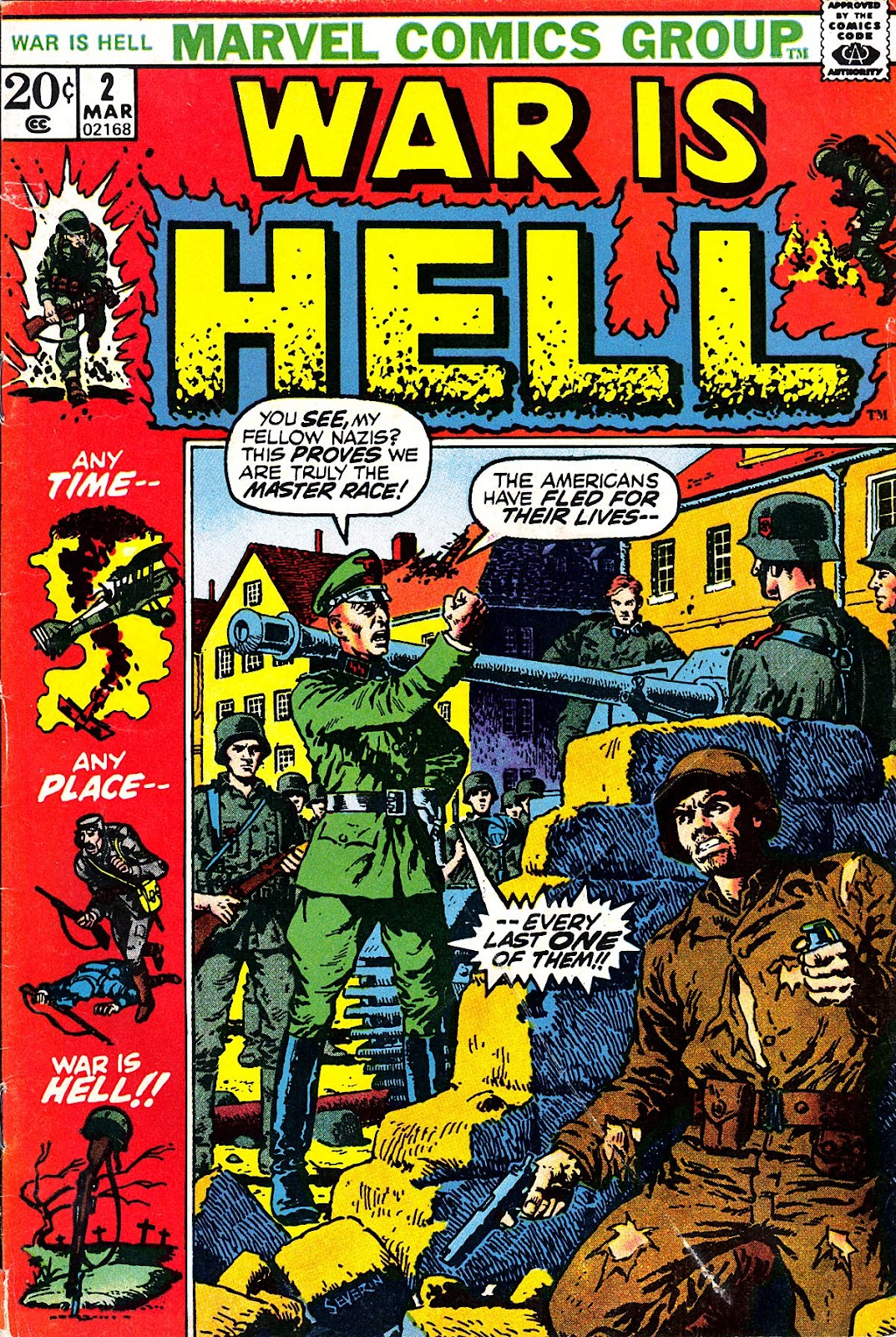 War Is Hell (1973) 2 Page 1