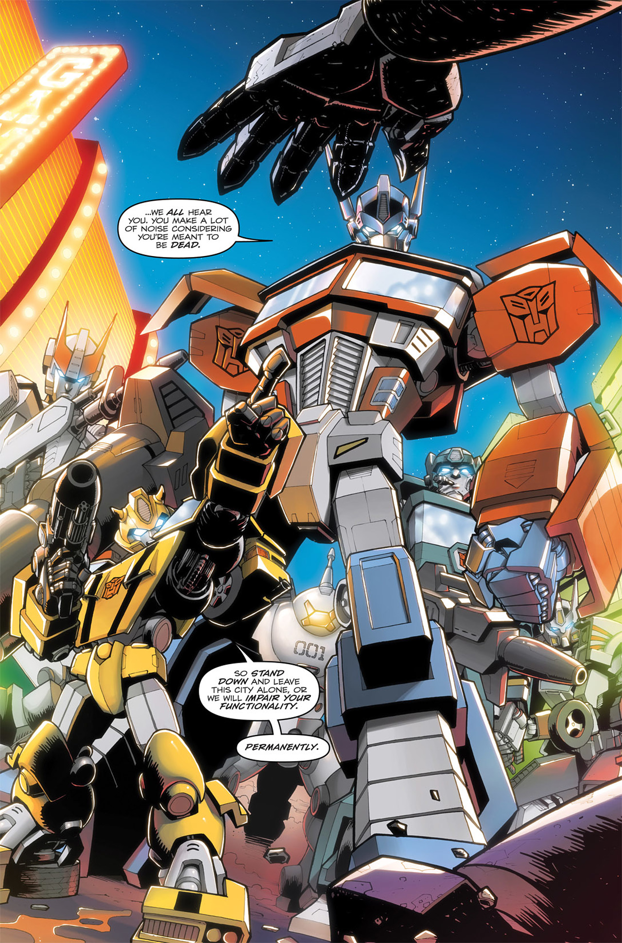Read online Transformers: Infestation comic -  Issue #1 - 10