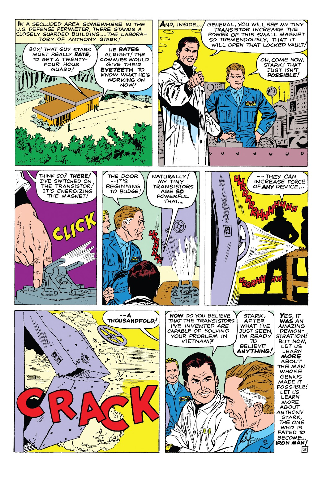 Read online Marvel Tales: Iron Man comic -  Issue # Full - 7