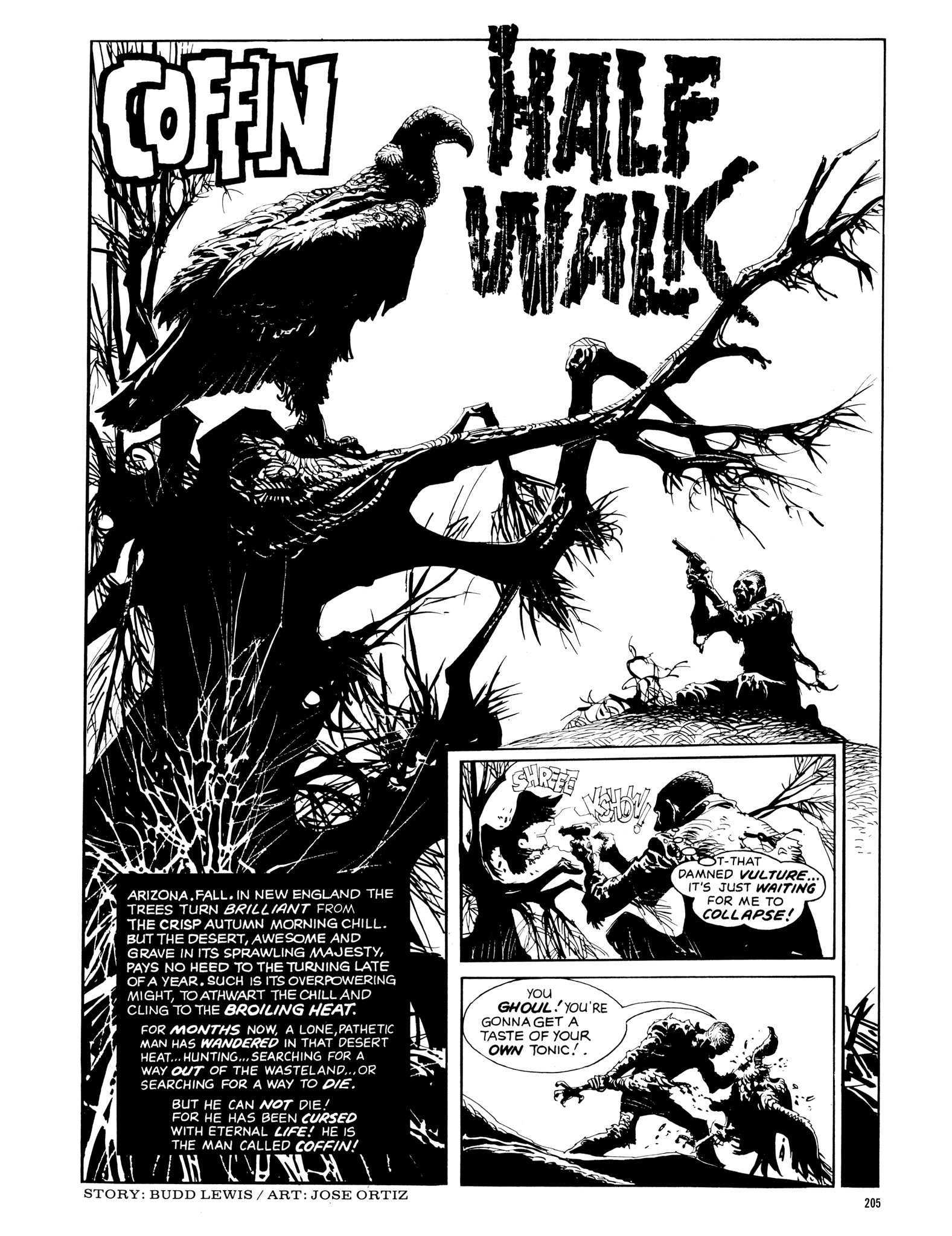 Read online Eerie Archives comic -  Issue # TPB 14 - 206