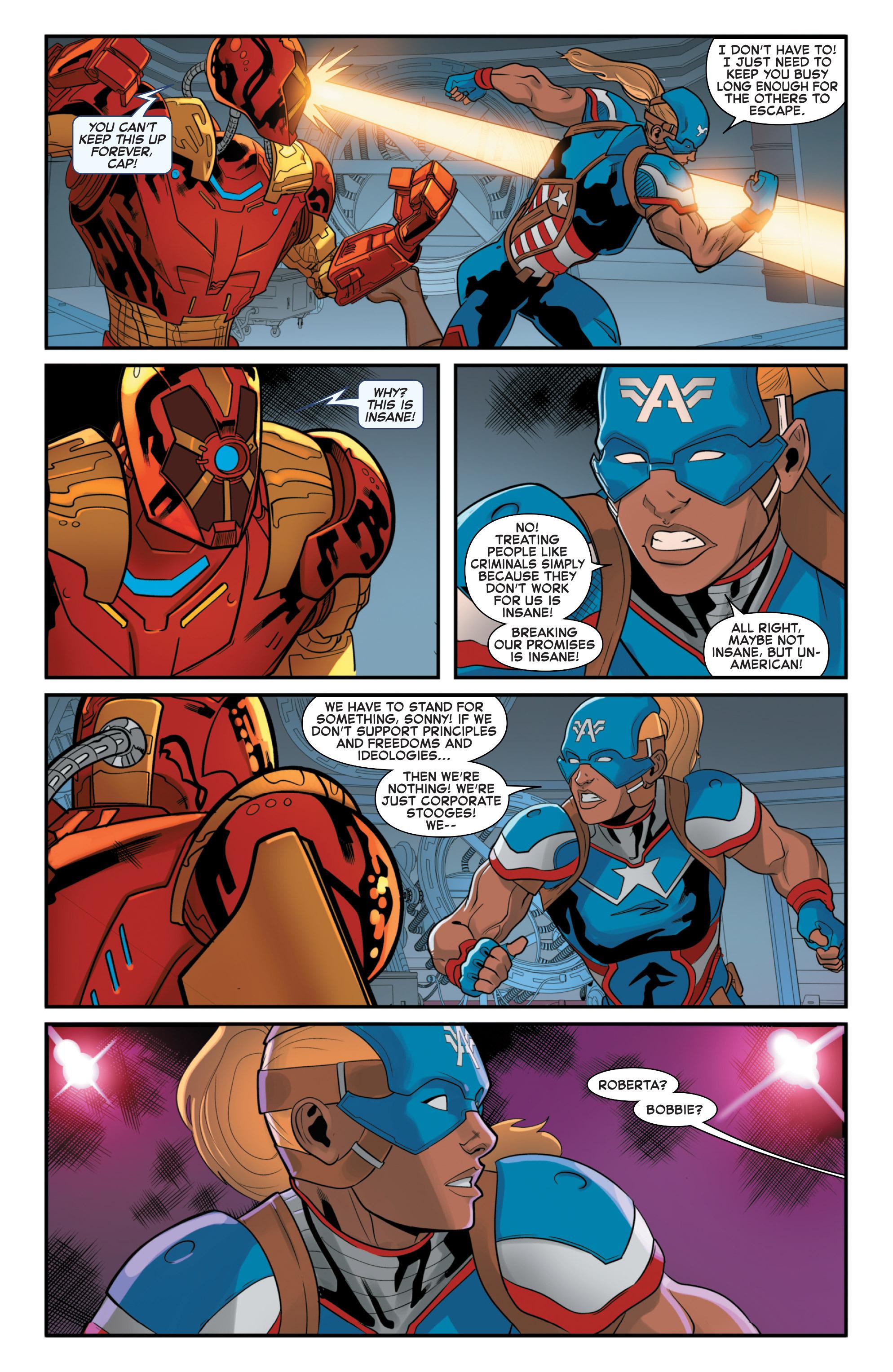 Read online Secret Wars 2099 comic -  Issue #4 - 20