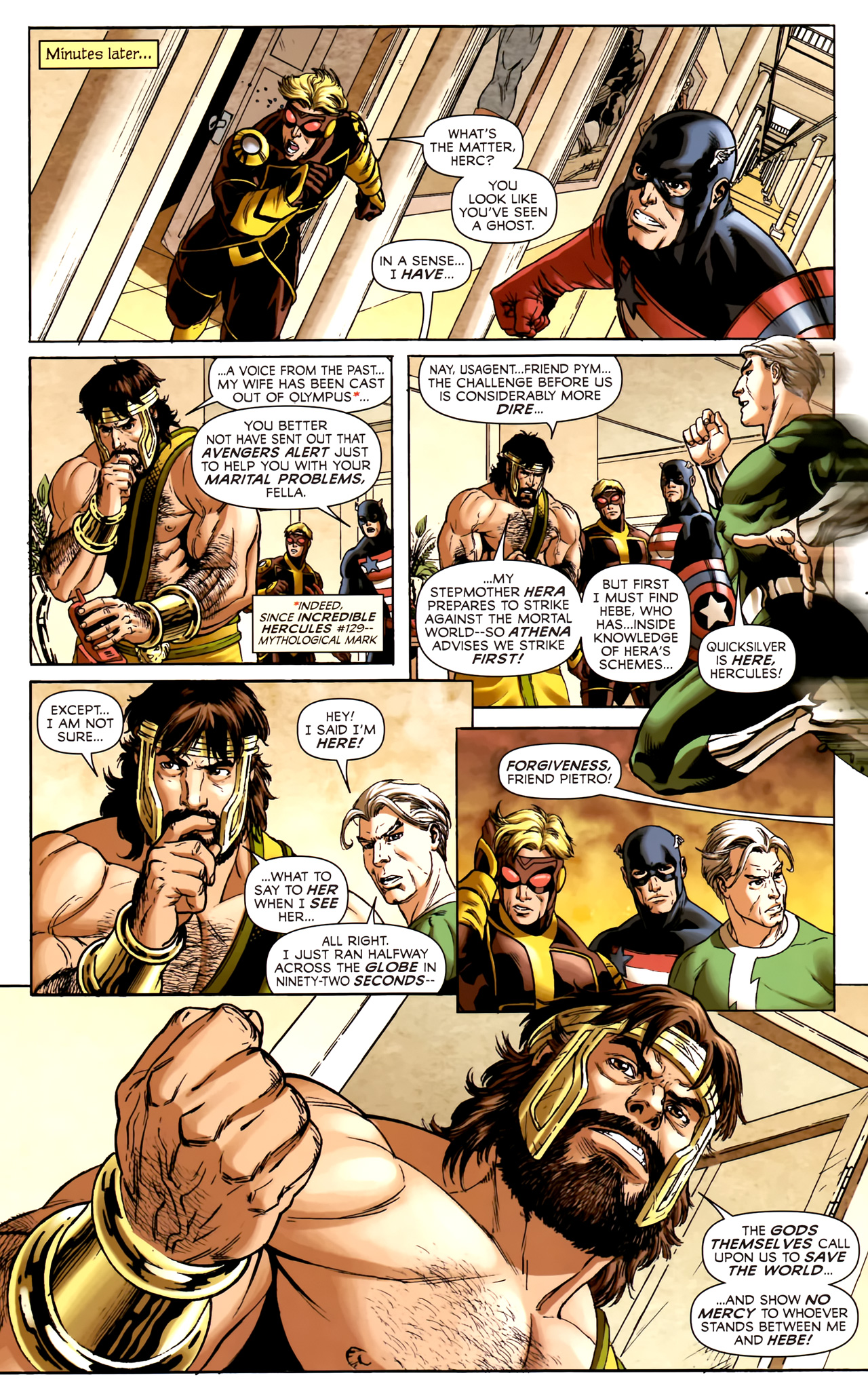 Read online Assault on New Olympus Prologue comic -  Issue #Assault on New Olympus Prologue Full - 11