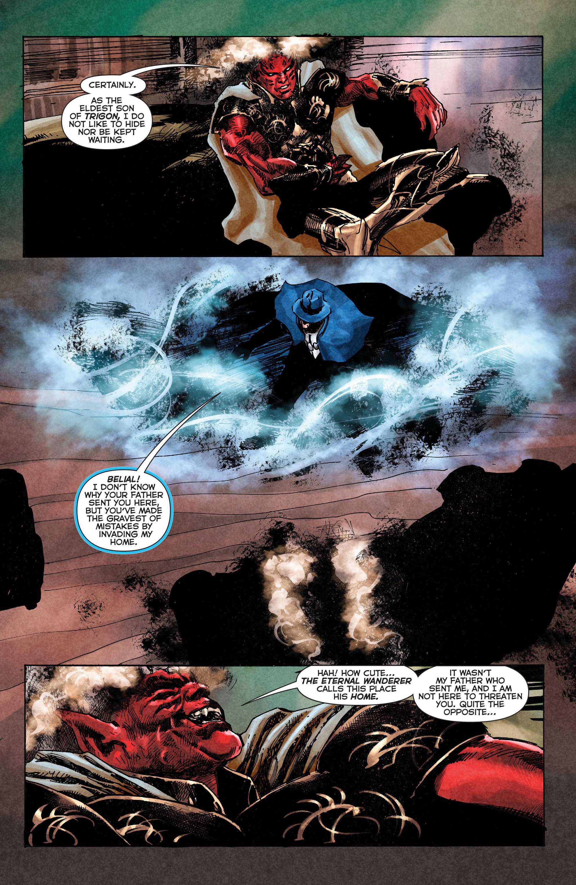 Read online Trinity of Sin: The Phantom Stranger comic -  Issue #2 - 9
