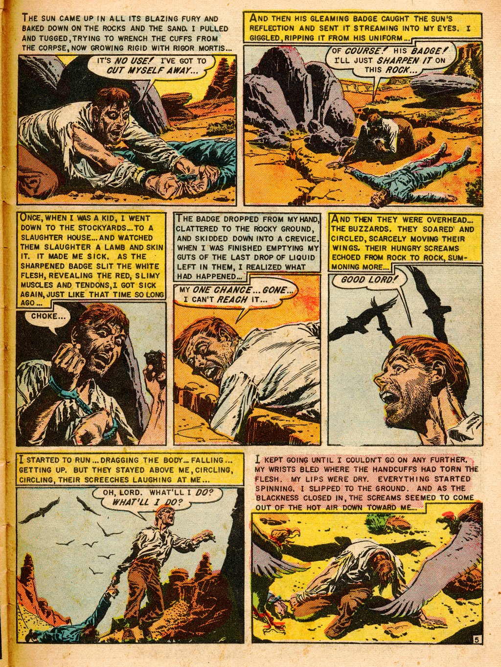 Read online Shock SuspenStories comic -  Issue #9 - 31