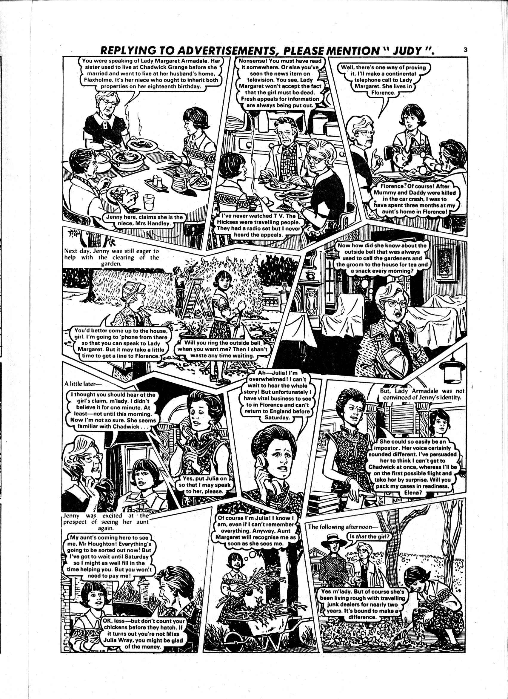 Read online Judy comic -  Issue #1101 - 3