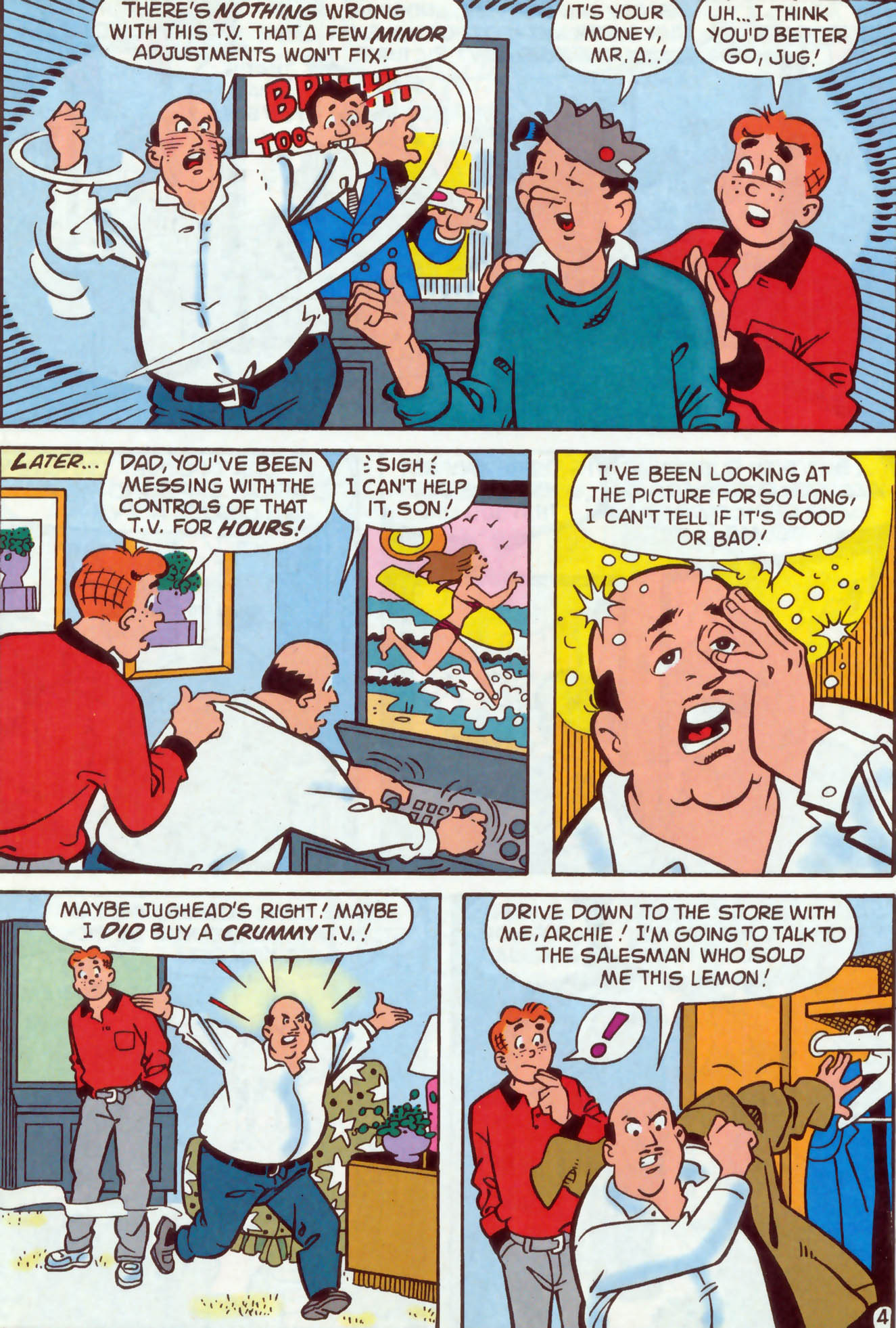 Read online Archie (1960) comic -  Issue #477 - 12