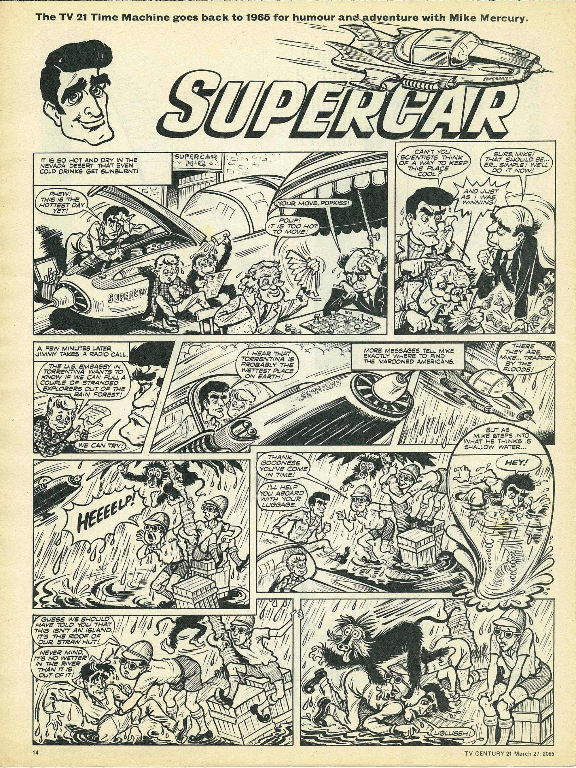 Read online TV Century 21 (TV 21) comic -  Issue #10 - 13