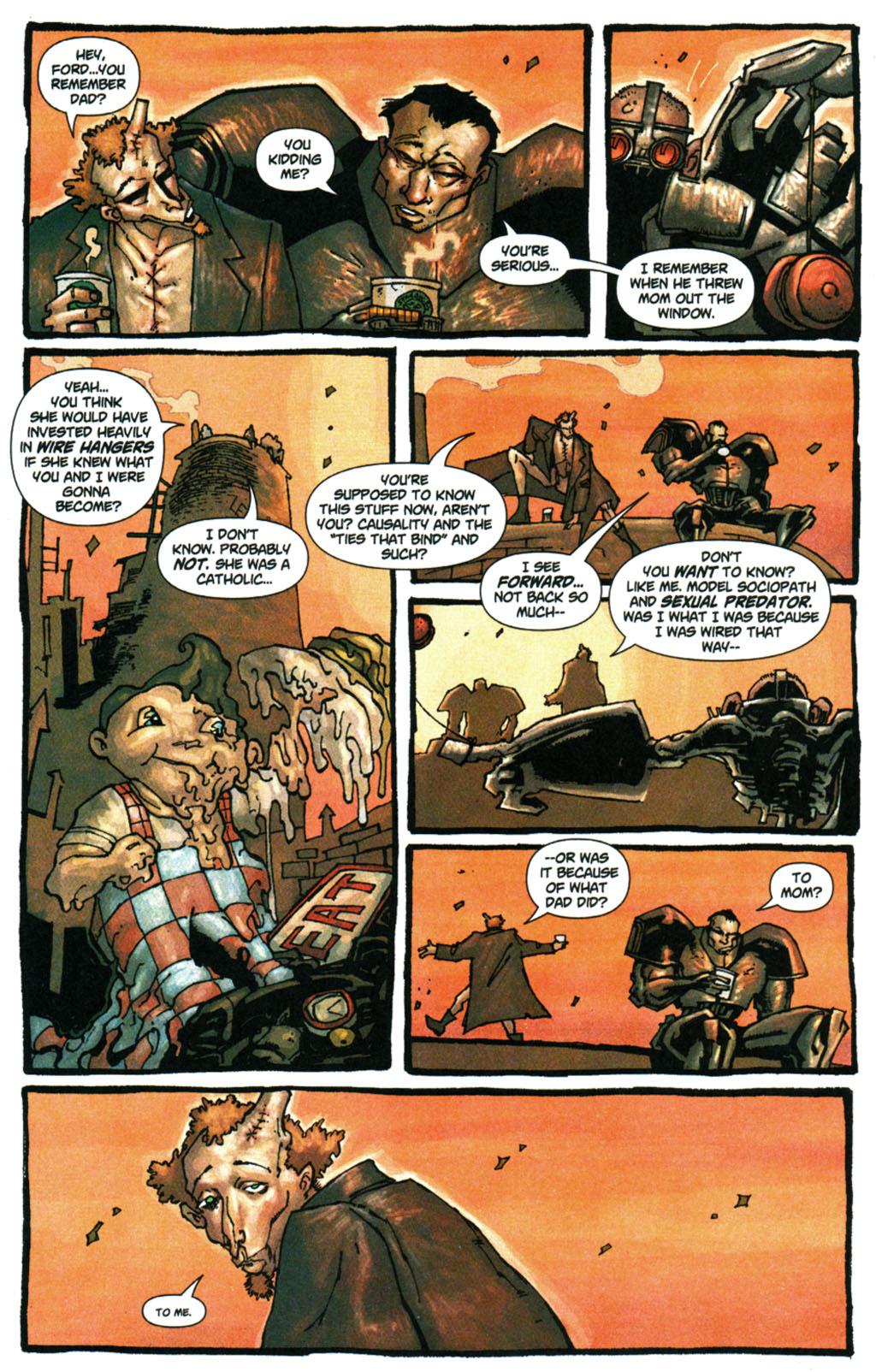 Read online Enginehead comic -  Issue #5 - 9