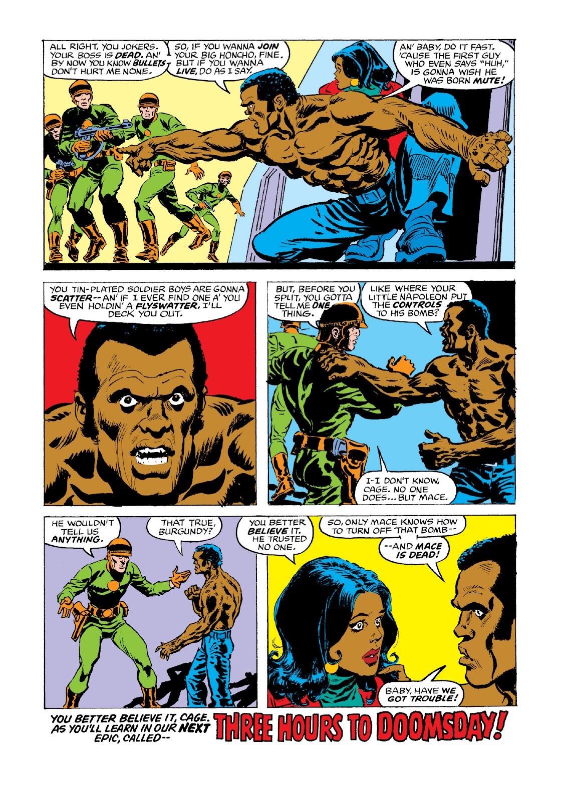 Read online Marvel Masterworks: Luke Cage, Power Man comic -  Issue # TPB 3 (Part 3) - 80