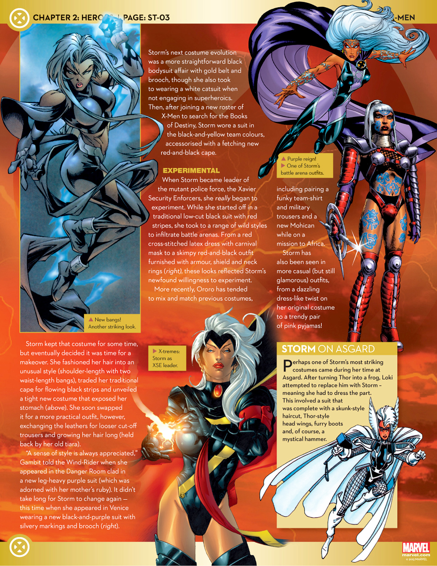 Marvel Fact Files 26 Page 30
