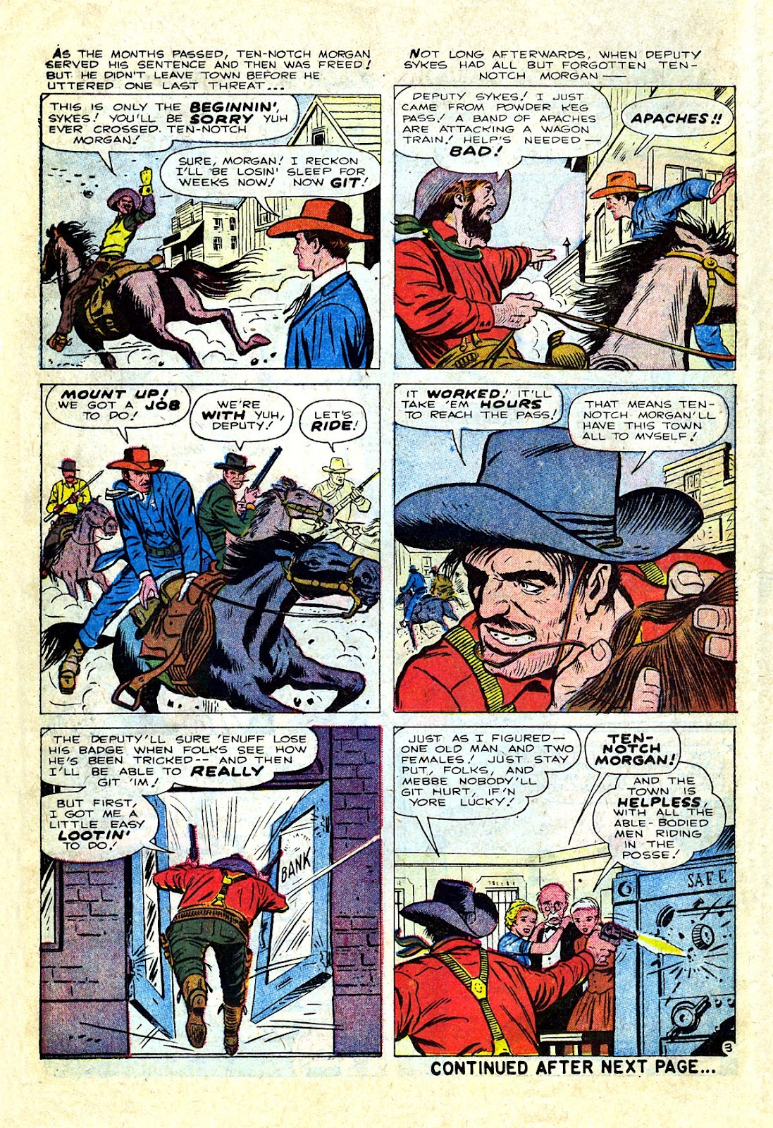 Gunsmoke Western issue 75 - Page 14