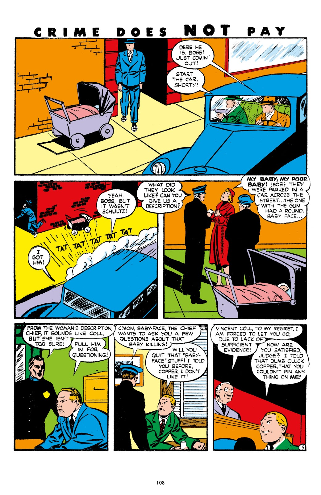 Read online Crime Does Not Pay Archives comic -  Issue # TPB 7 (Part 2) - 10