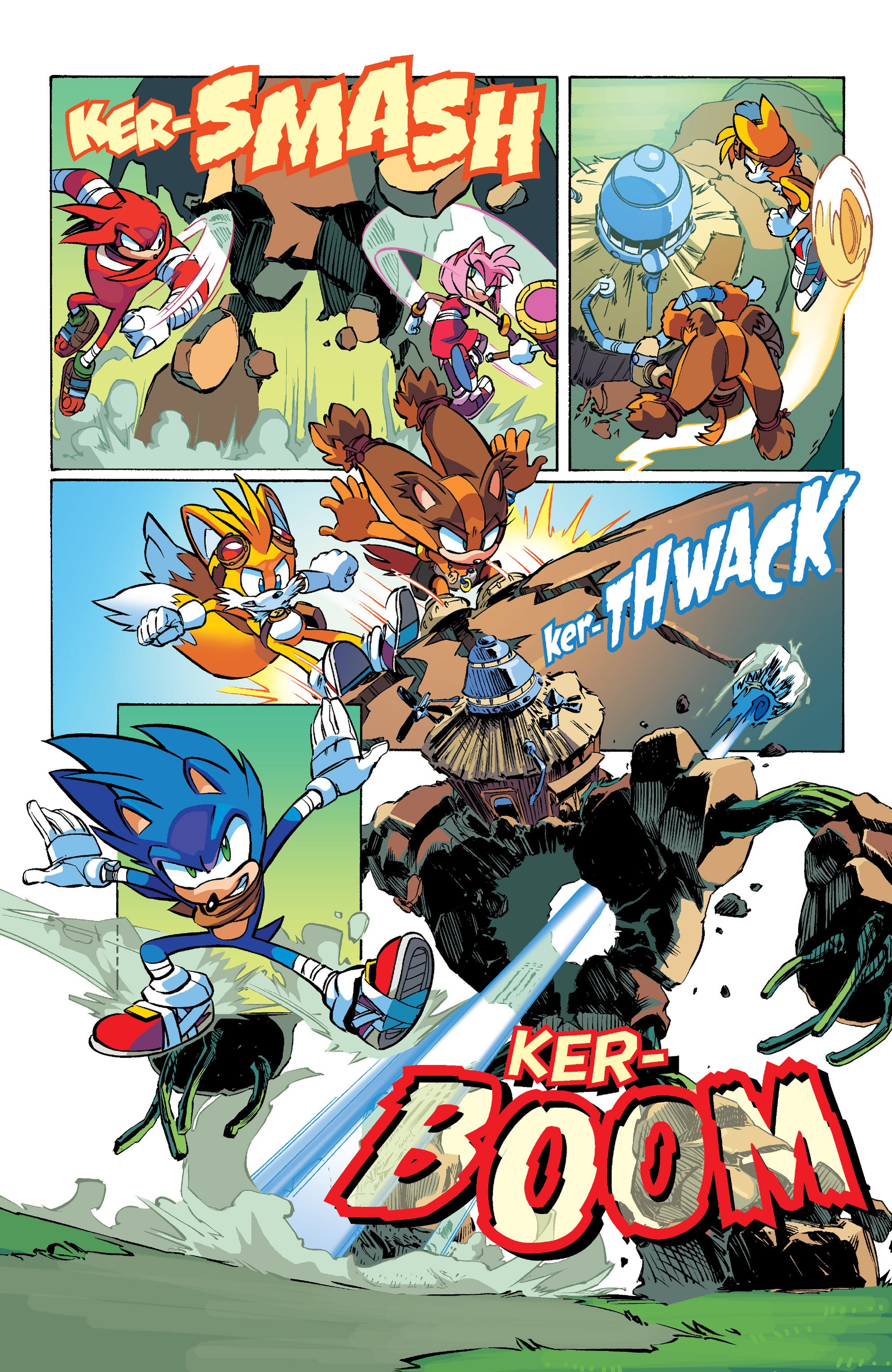Read online Sonic Boom comic -  Issue #1 - 20