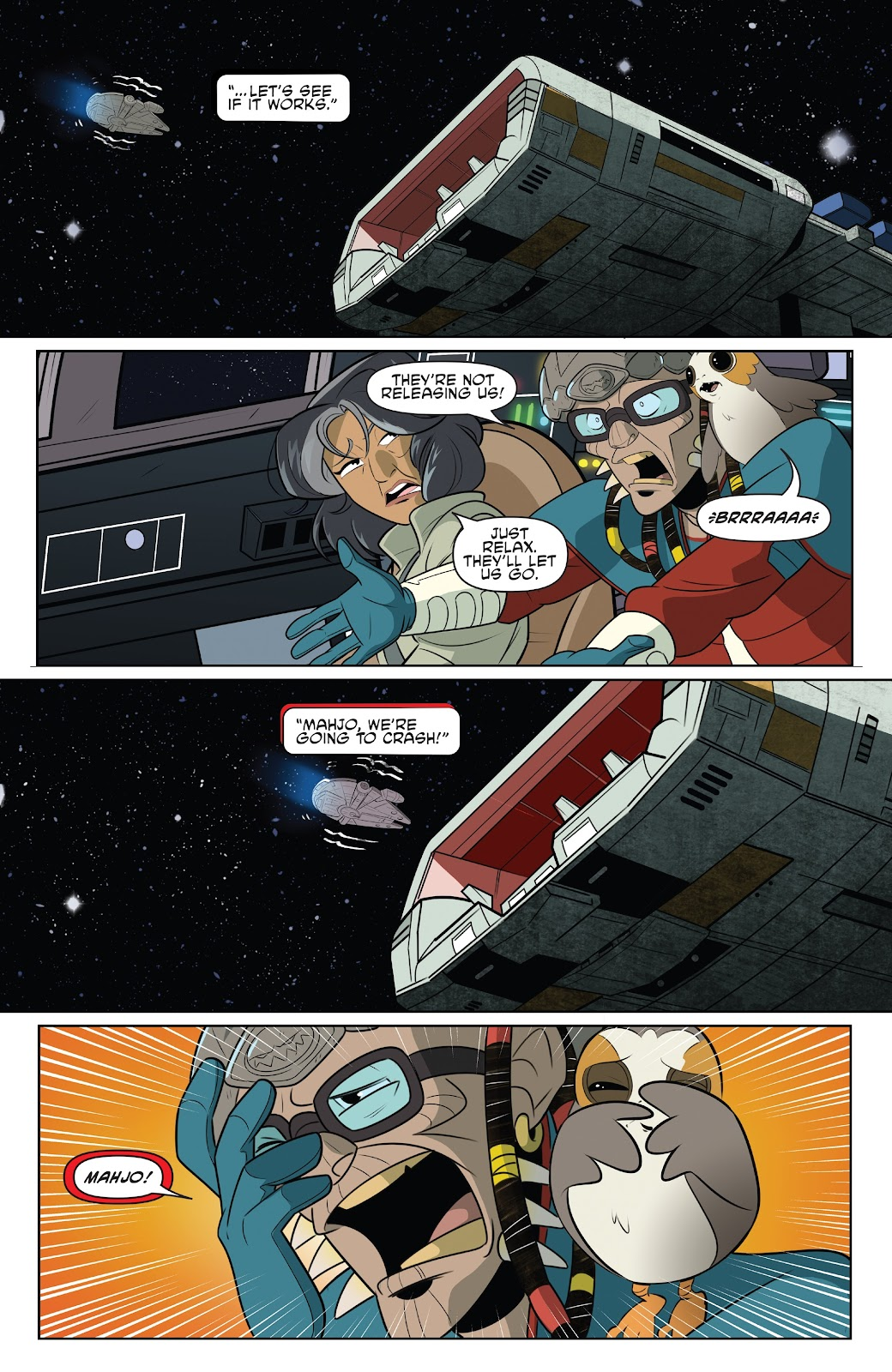 Read online Star Wars Adventures: Flight of the Falcon comic -  Issue # Full - 19