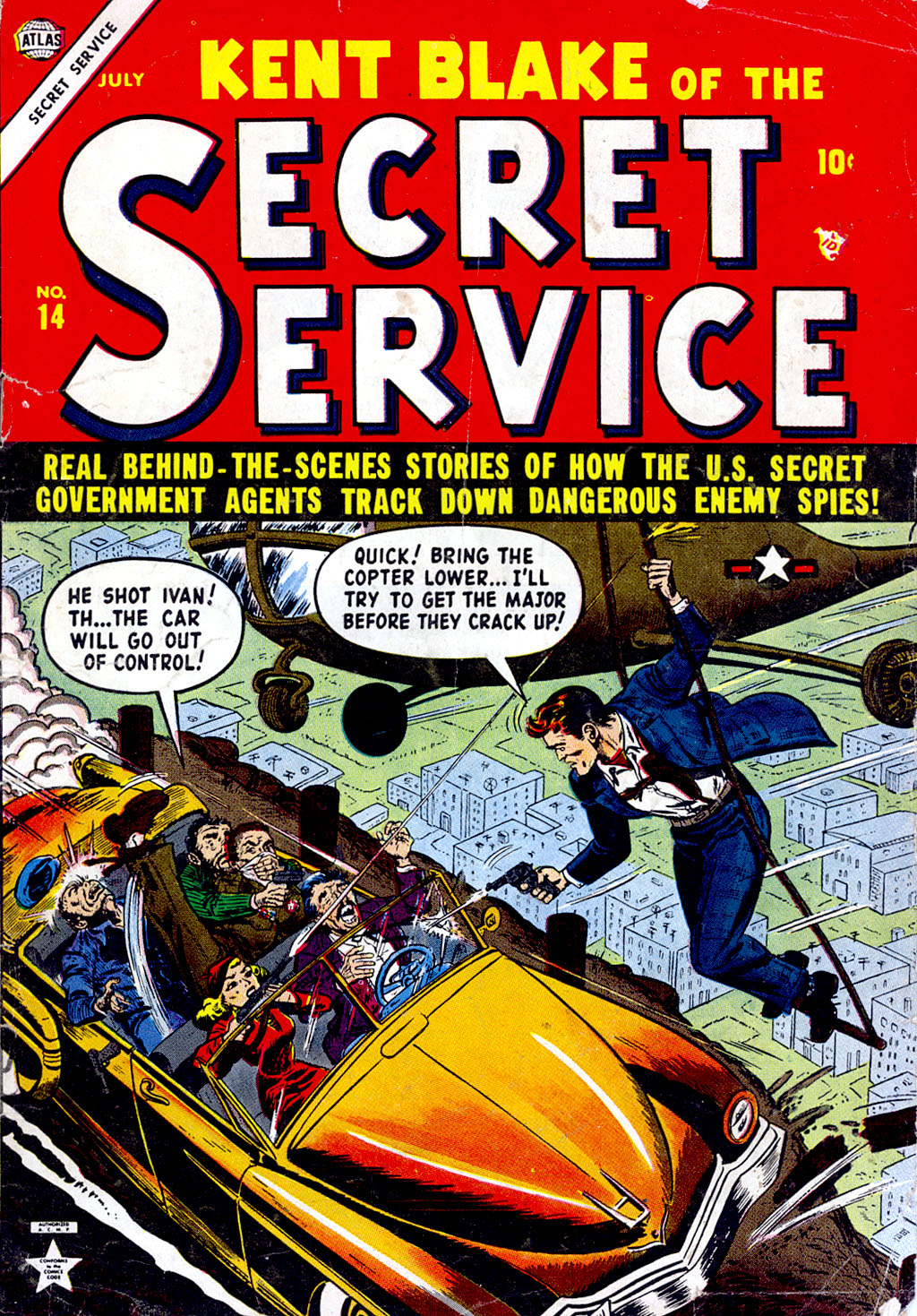 Kent Blake of the Secret Service issue 14 - Page 1