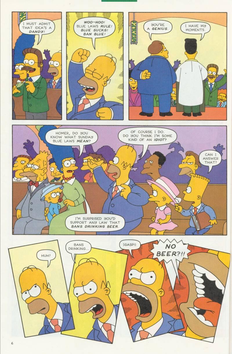 Read online Simpsons Comics comic -  Issue #58 - 7