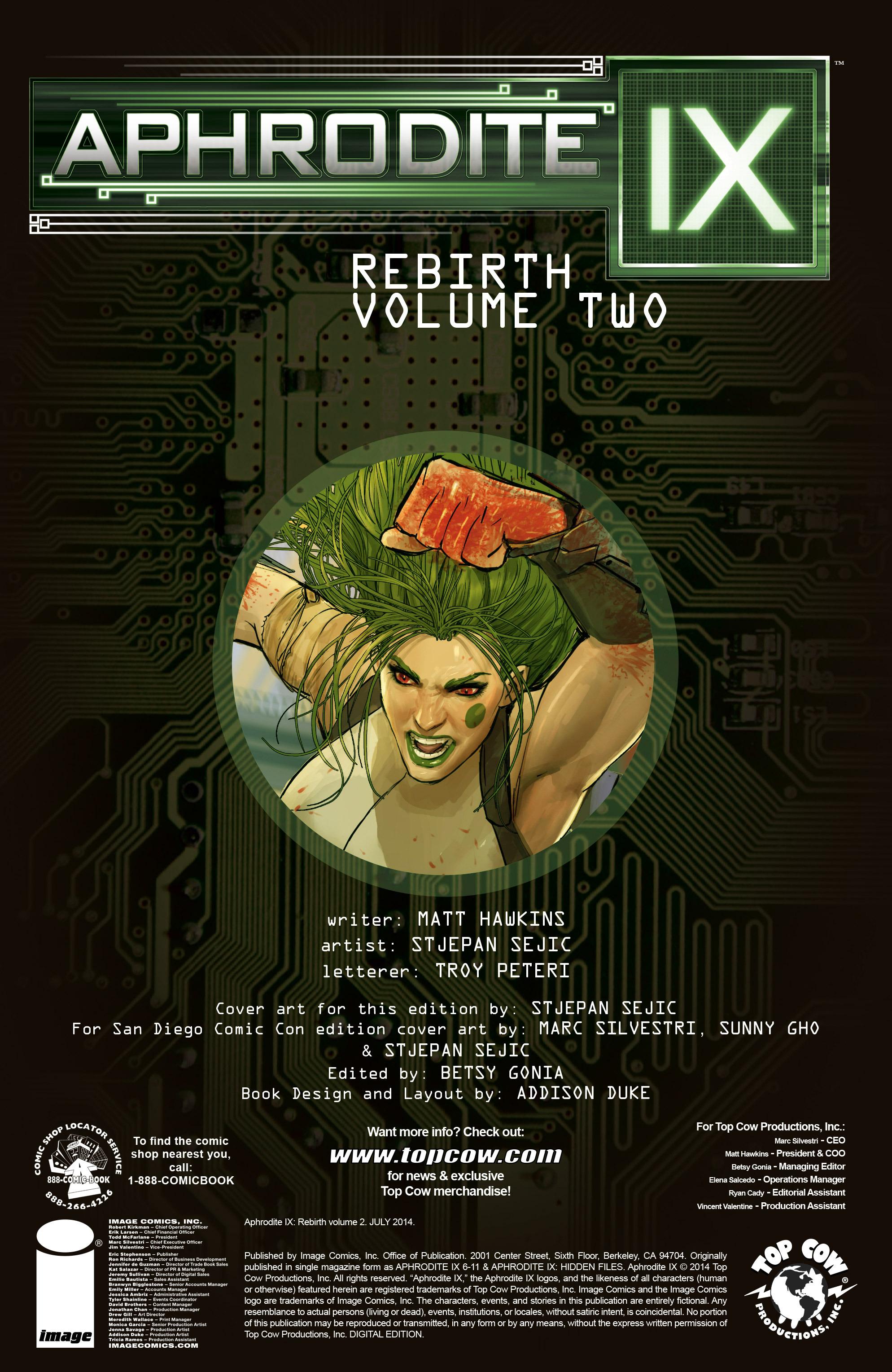 Read online Aphrodite IX (2013) comic -  Issue #Aphrodite IX (2013) _TPB 2 - 3