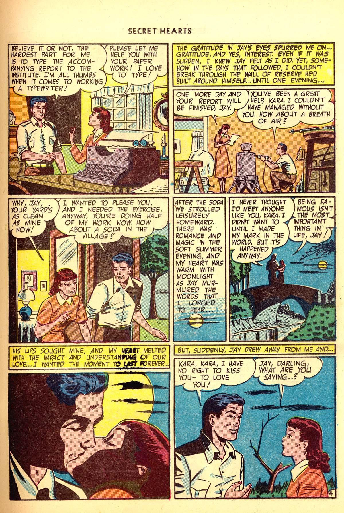 Read online Secret Hearts comic -  Issue #6 - 15