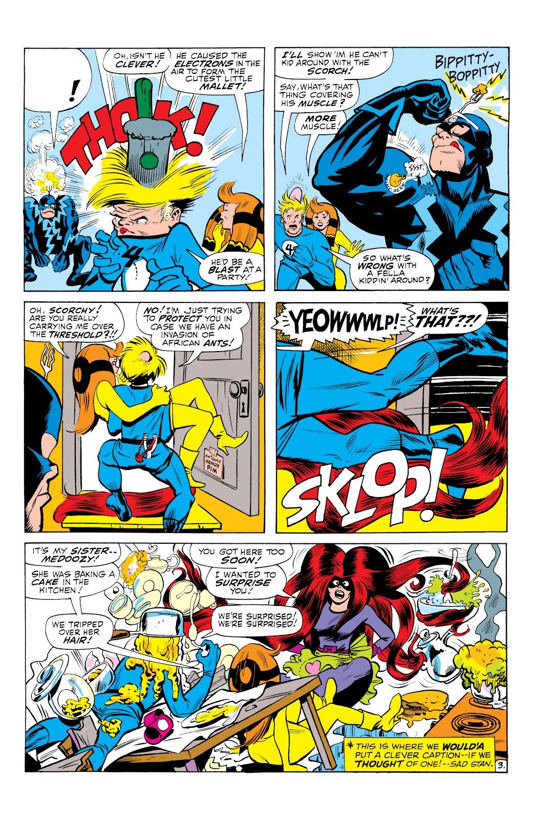Read online Marvel Masterworks: The Inhumans comic -  Issue # TPB 1 (Part 3) - 20