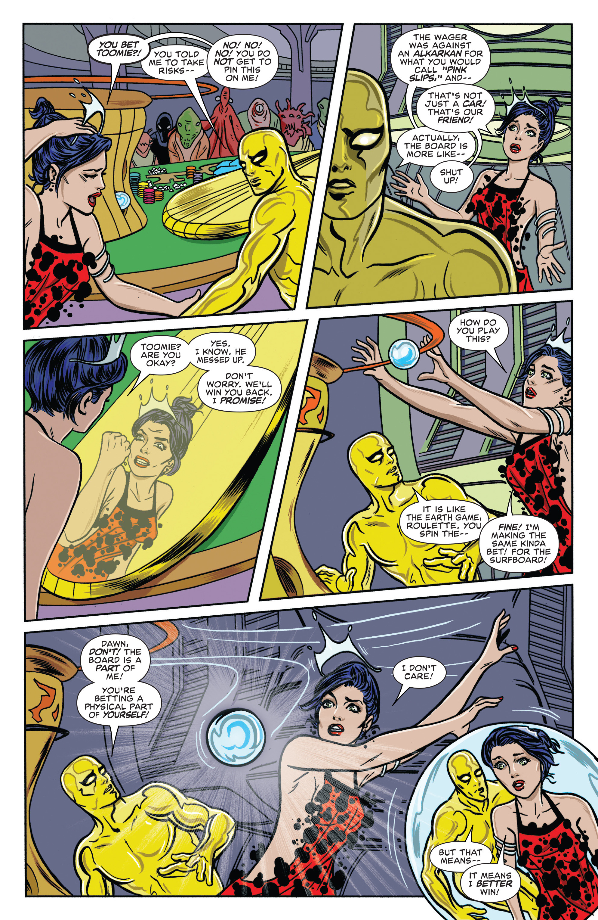 Read online Silver Surfer (2016) comic -  Issue #7 - 14