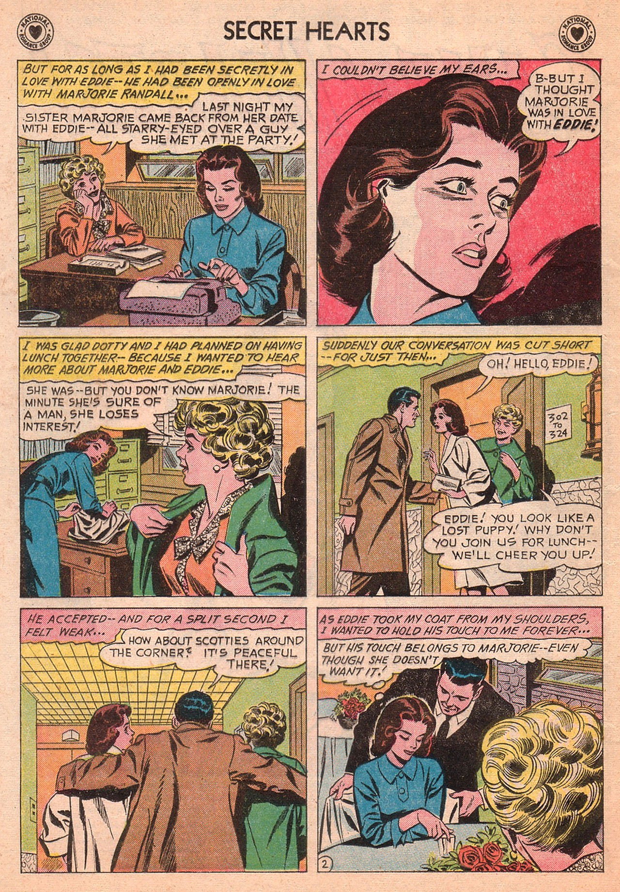 Read online Secret Hearts comic -  Issue #77 - 4
