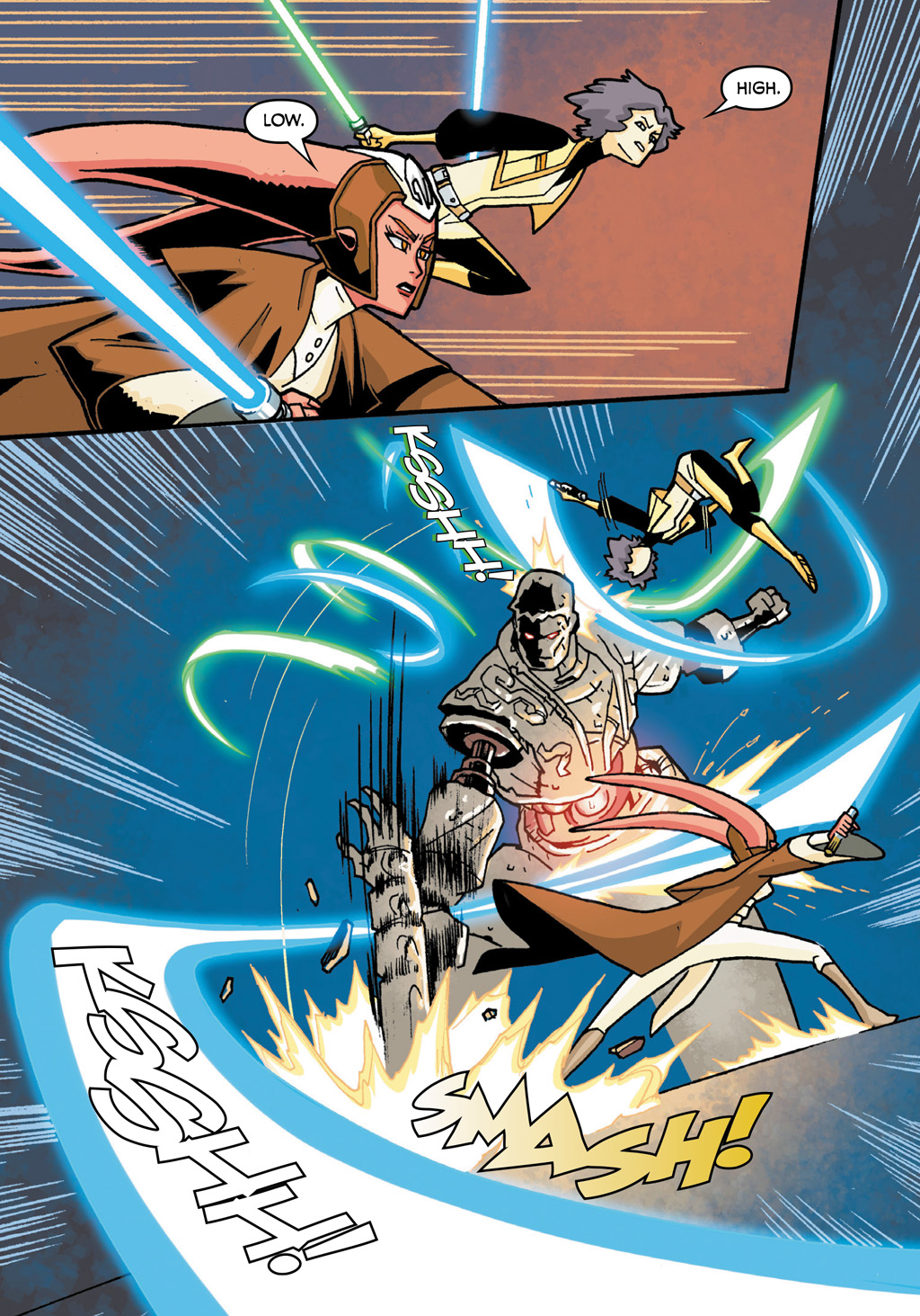 Read online Star Wars: The Clone Wars - Defenders of the Lost Temple comic -  Issue # Full - 19