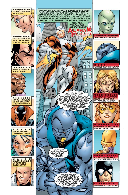 Alpha Flight (2004) issue 11 - Page 3
