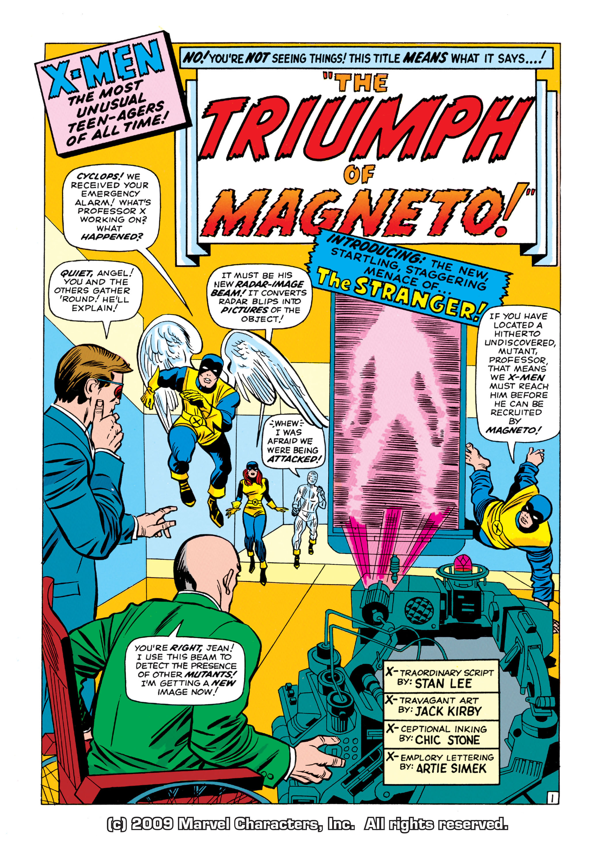 Read online Uncanny X-Men (1963) comic -  Issue #11 - 2