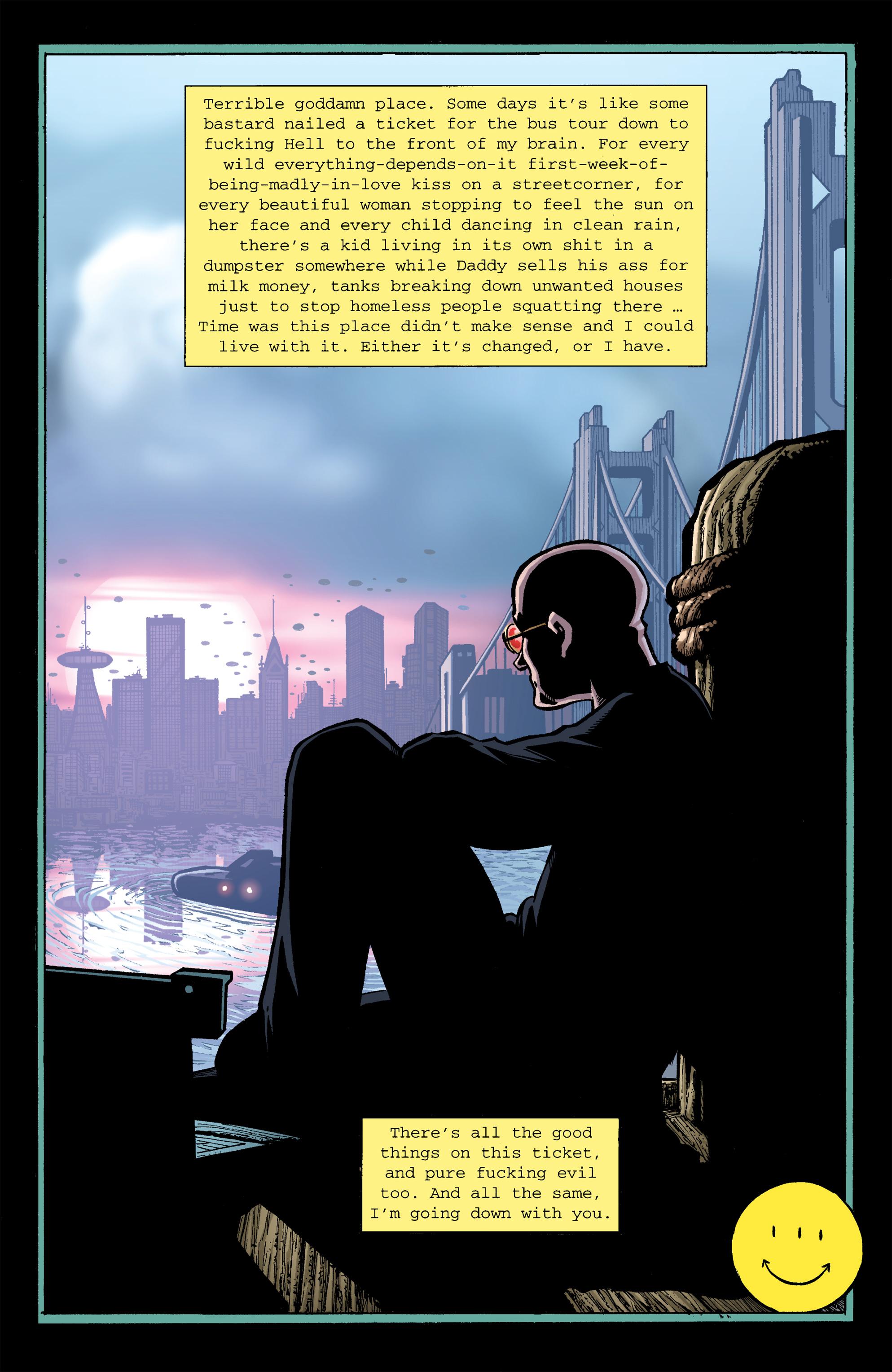 Read online Transmetropolitan comic -  Issue #26 - 23