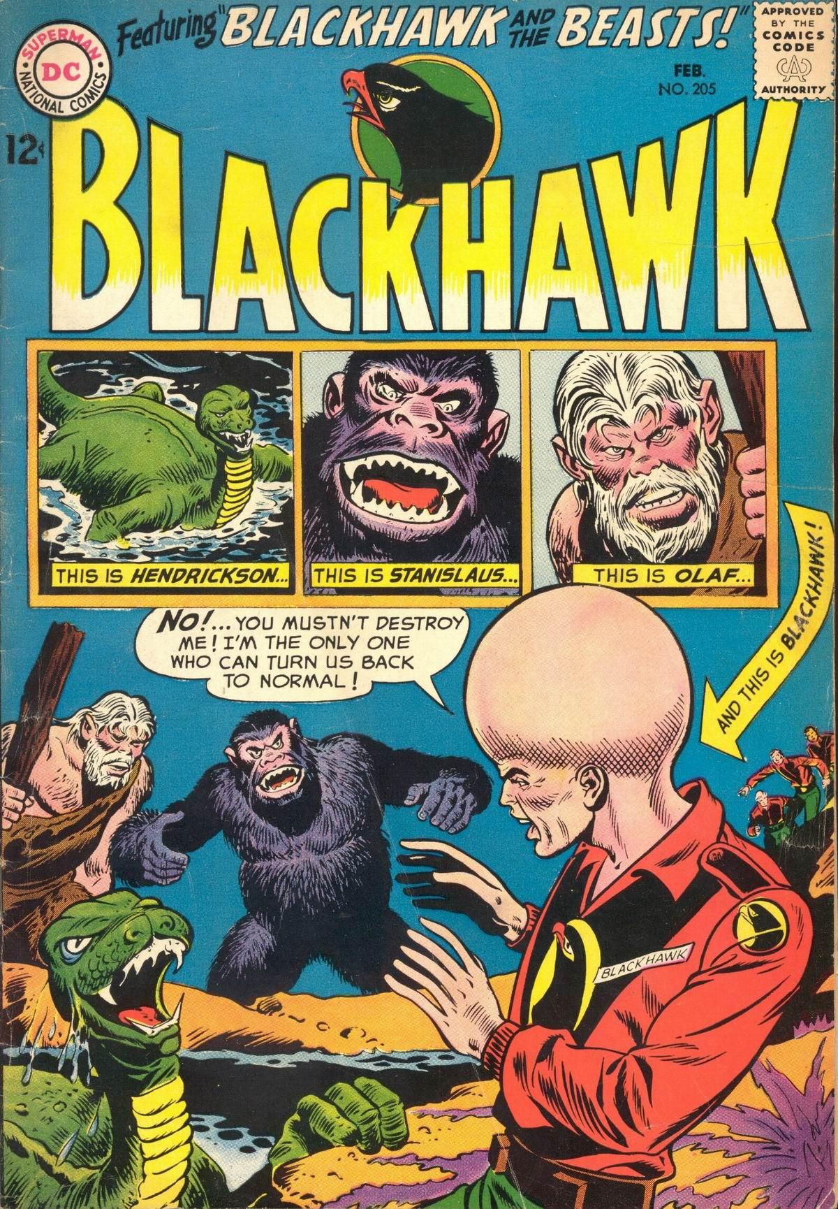 Blackhawk (1957) 205 Page 1
