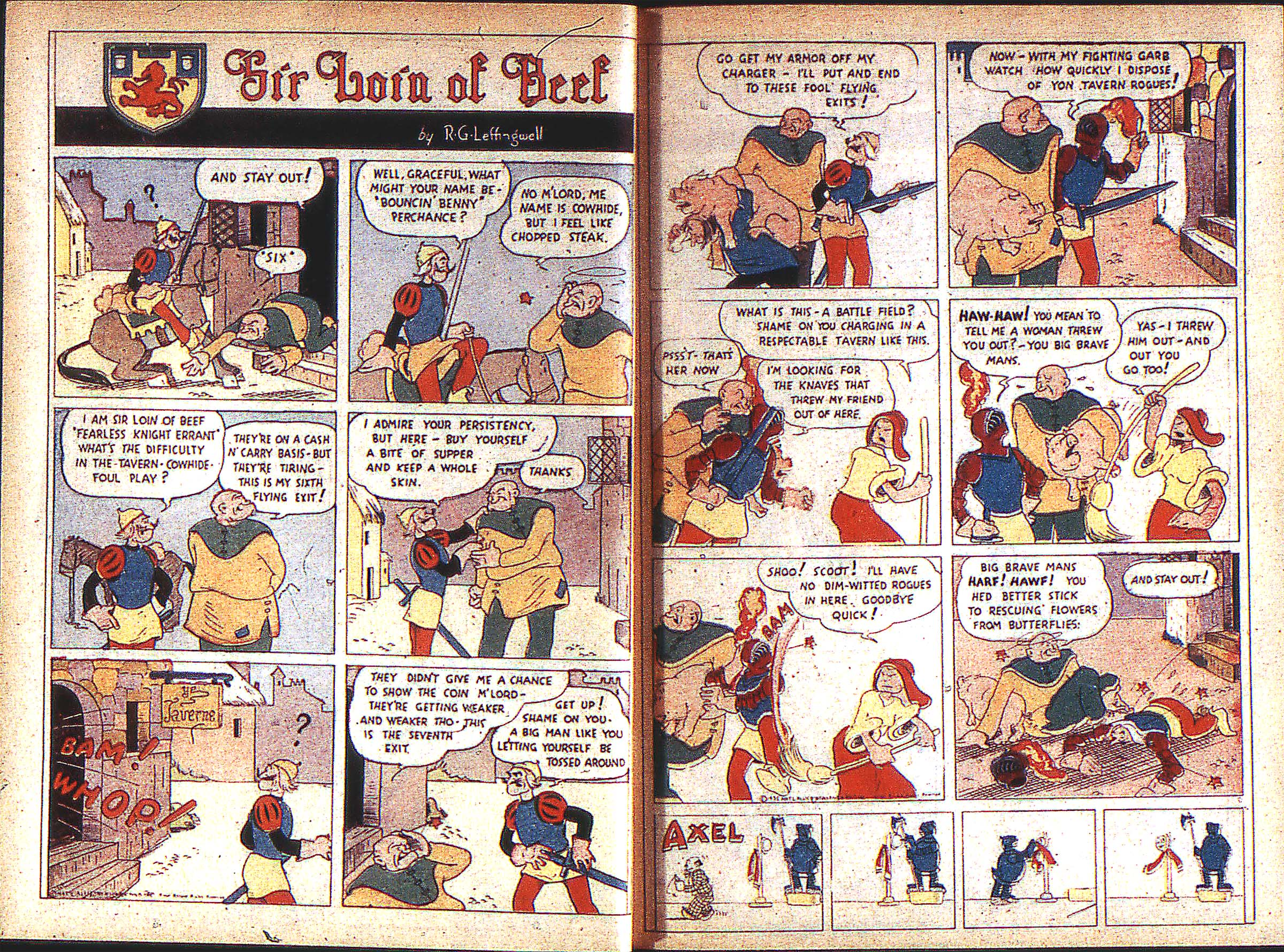 Read online Adventure Comics (1938) comic -  Issue #1 - 5