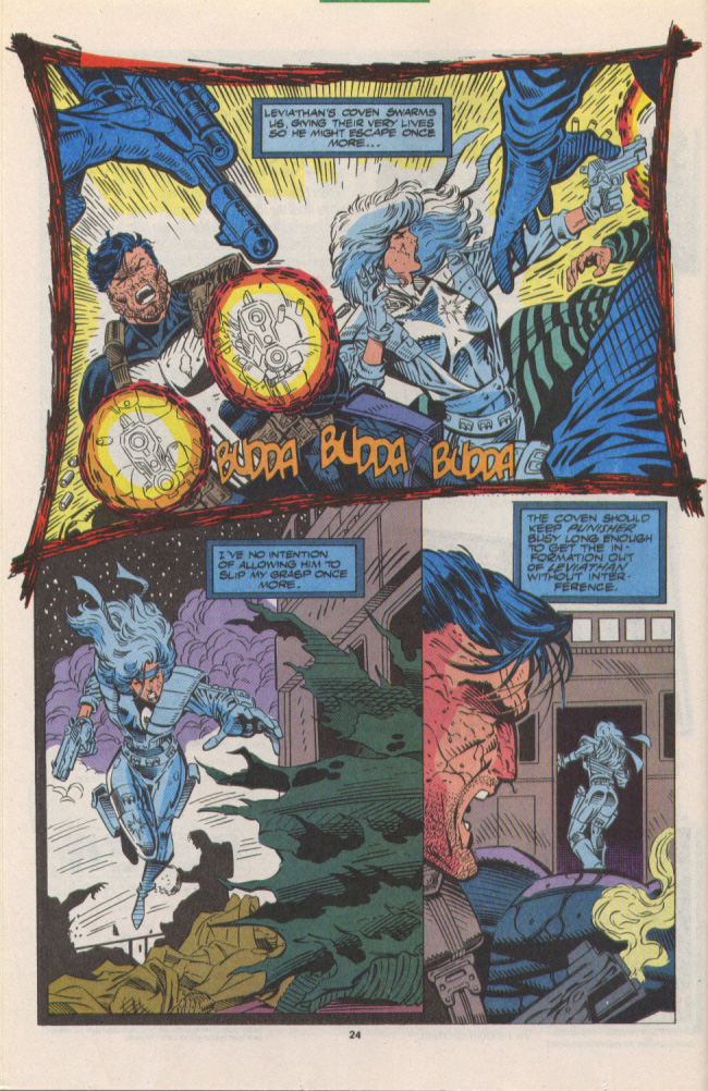 Read online Silver Sable and the Wild Pack comic -  Issue #10 - 19