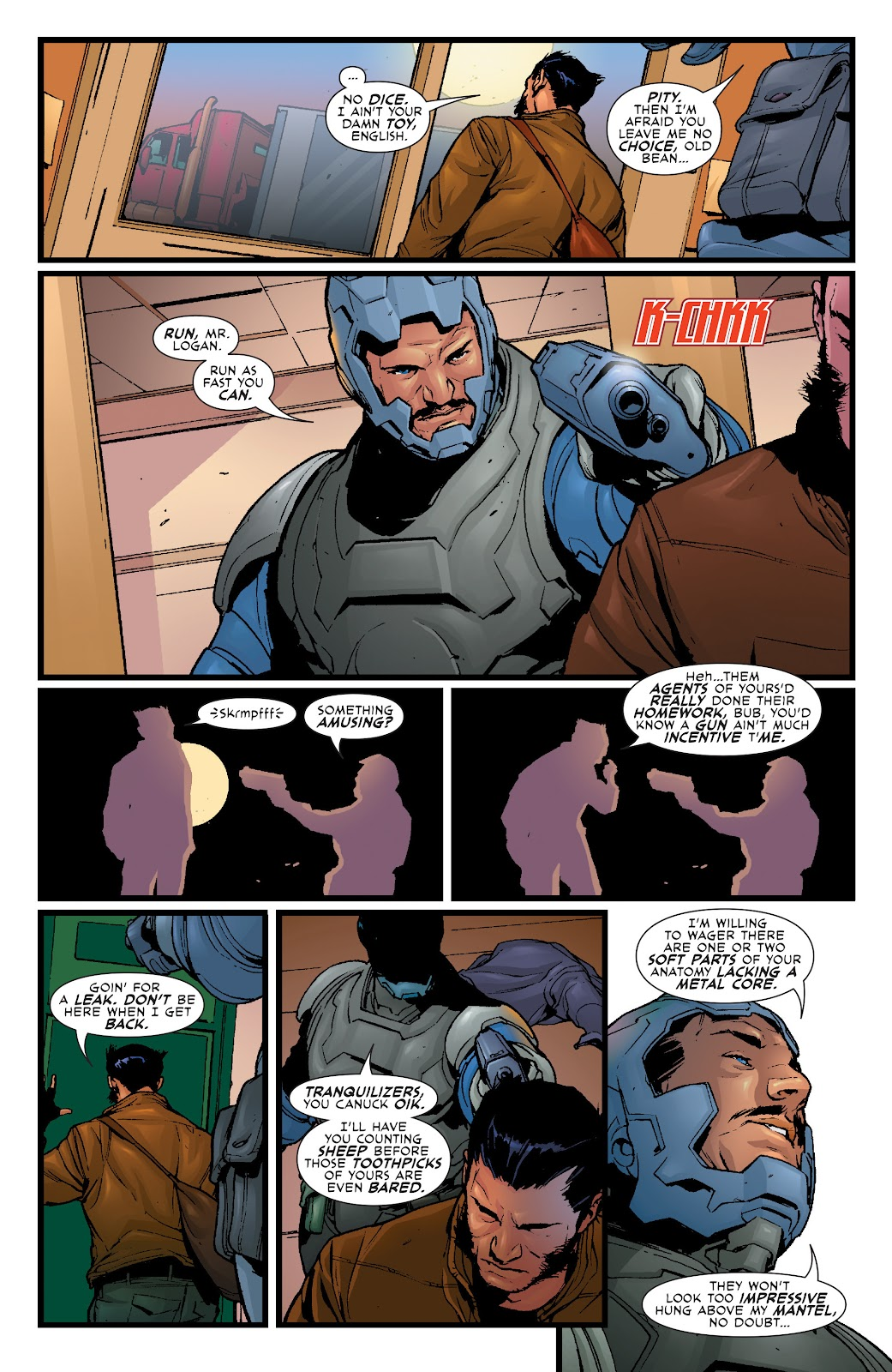 Wolverine: Dangerous Games issue Full - Page 19