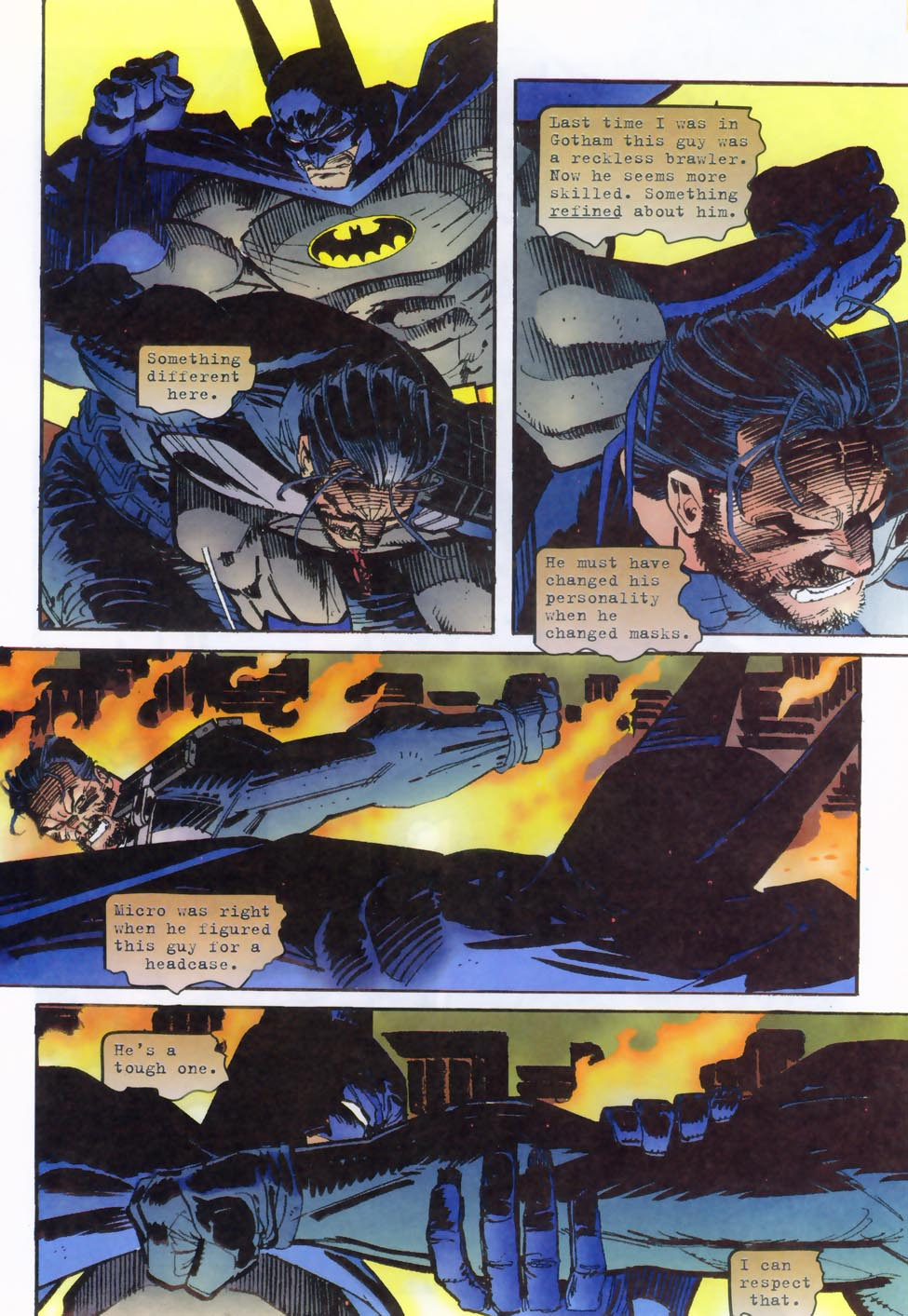 Read online Punisher/Batman: Deadly Knights comic -  Issue # Full - 12