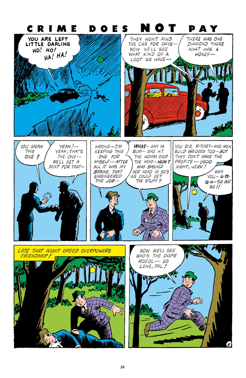 Read online Crime Does Not Pay Archives comic -  Issue # TPB 3 (Part 1) - 39