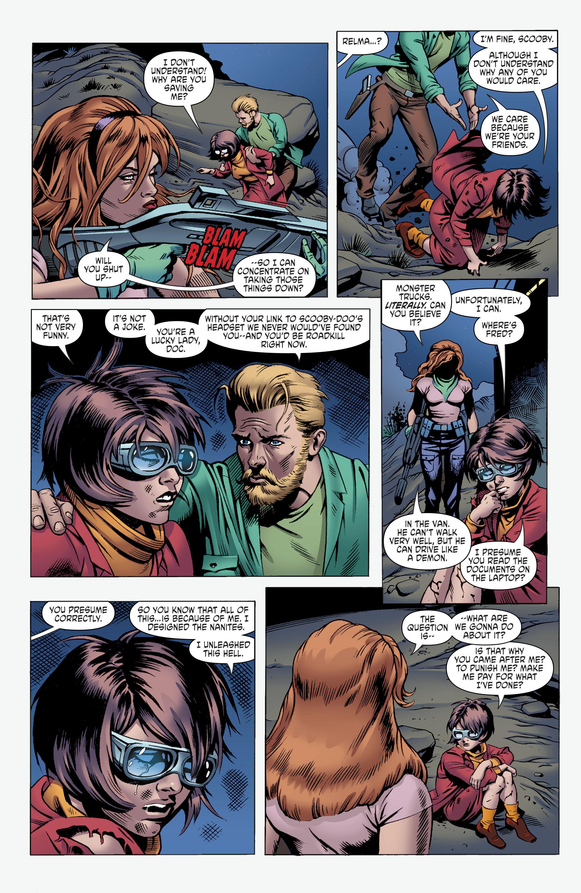 Read online Scooby Apocalypse comic -  Issue #11 - 18