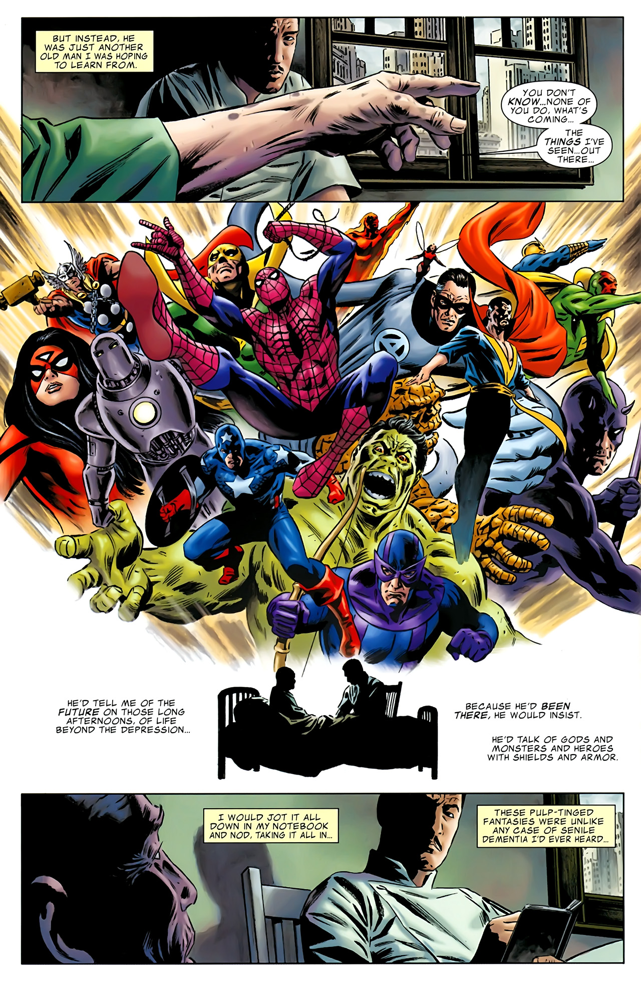 Read online Uncanny X-Men: First Class comic -  Issue #1 - 26